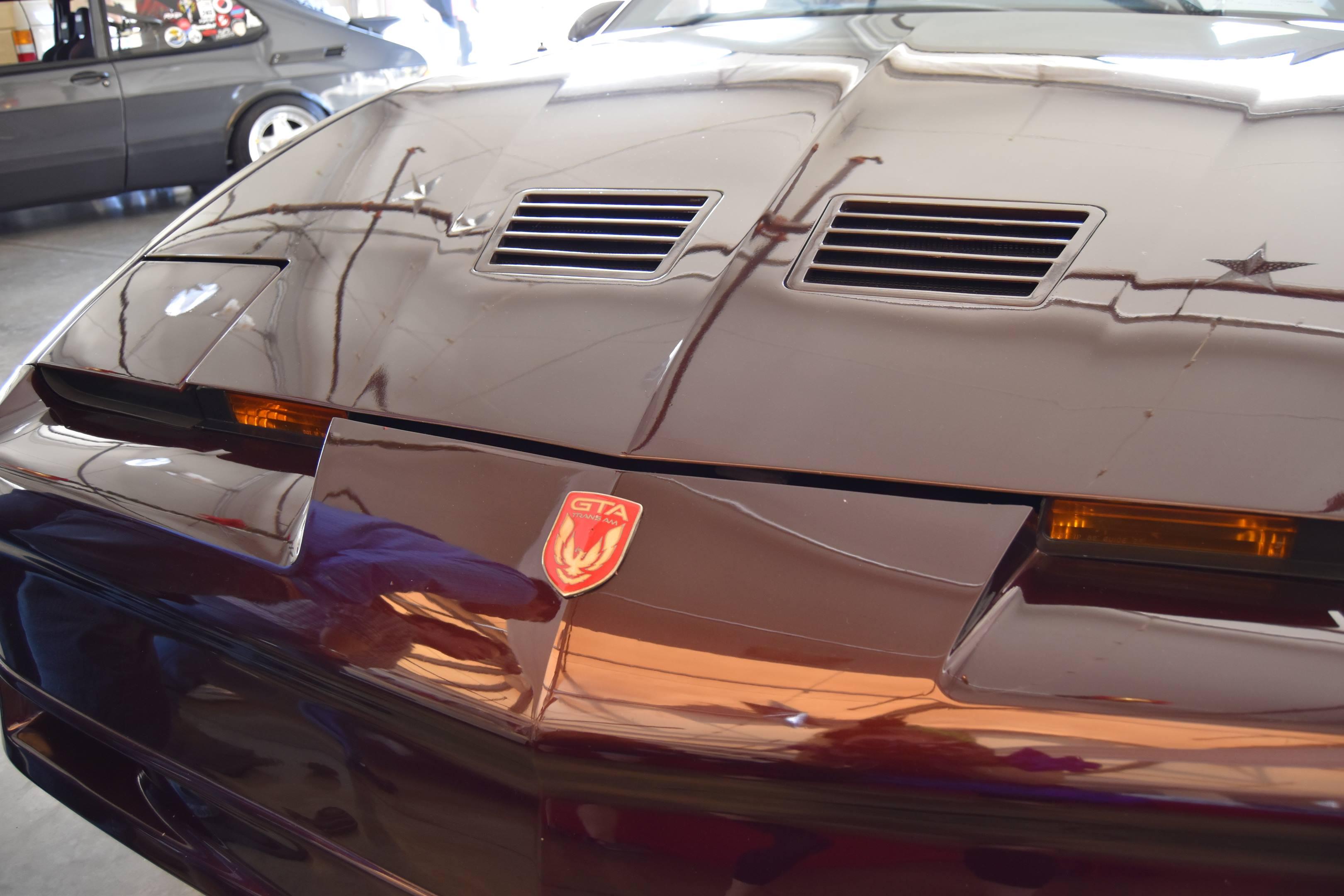 Pontiac Trans Am GTA badge