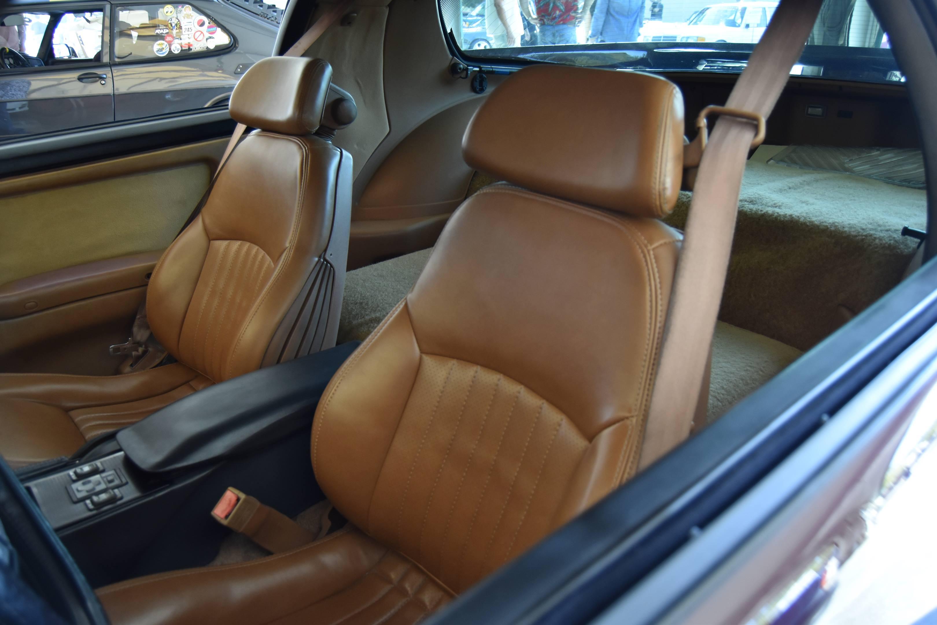Pontiac Trans Am GTA interior