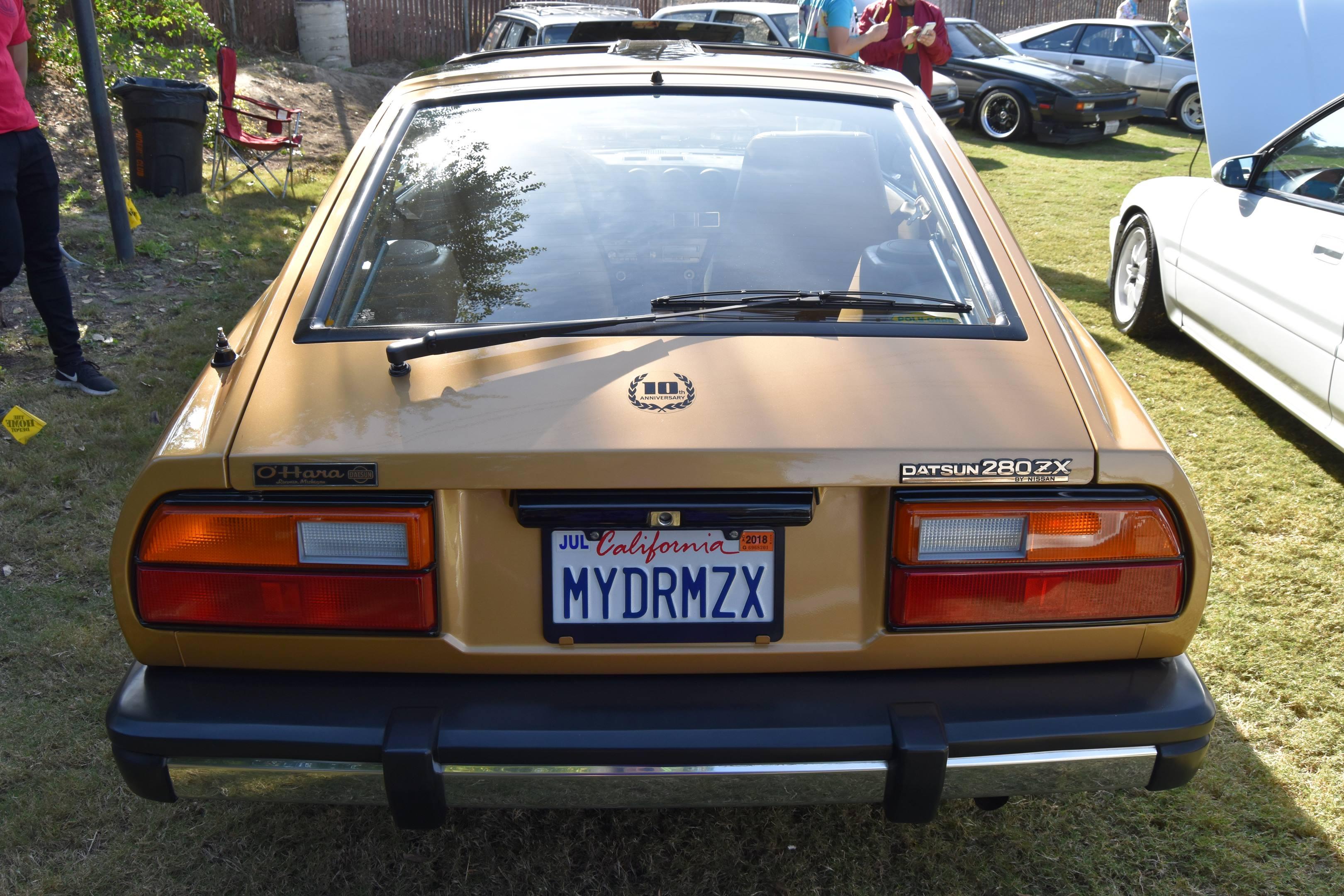 1980 Datsun 280ZX 10th Anniversary Edition rear
