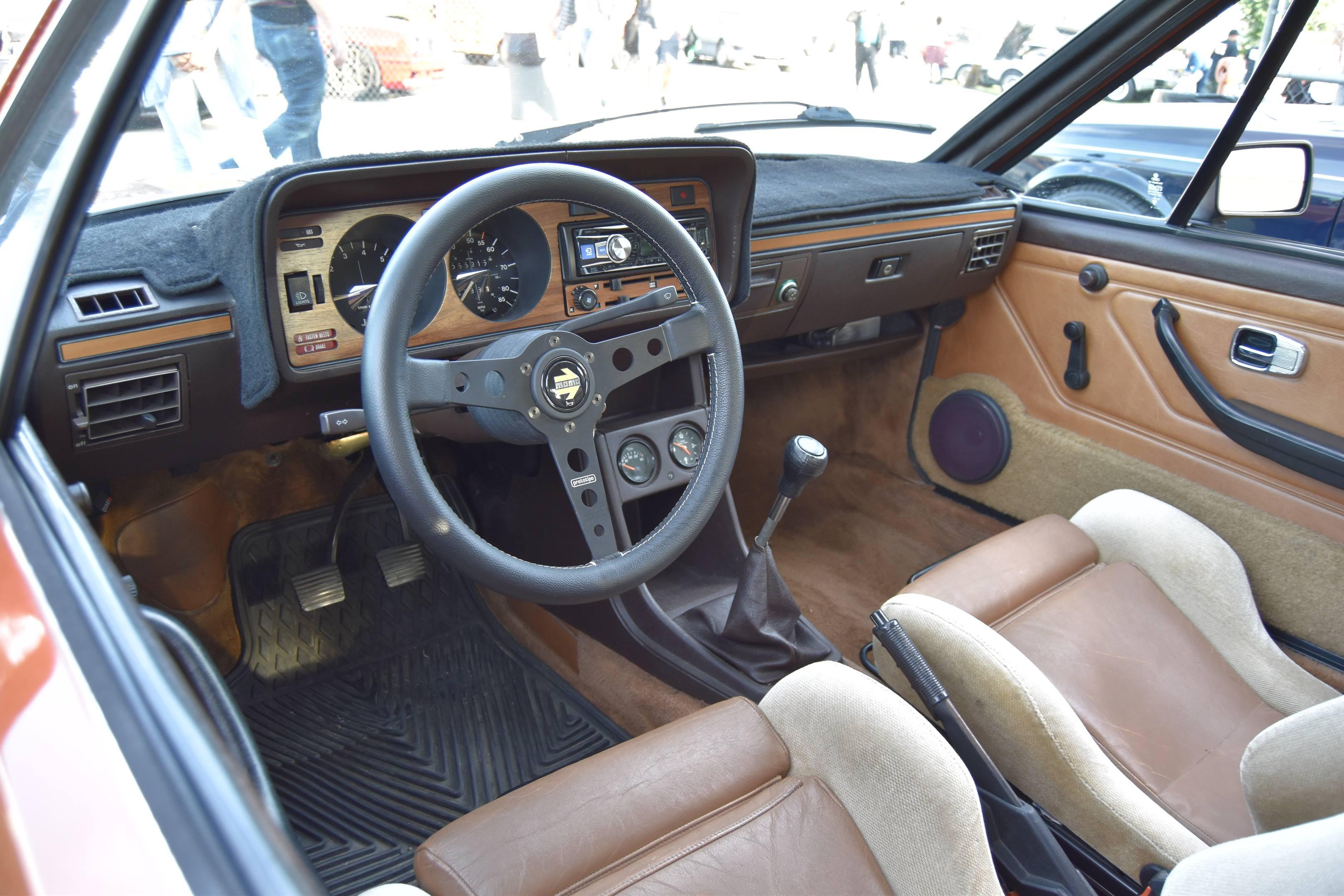 Volkswagen Scirocco steering wheel
