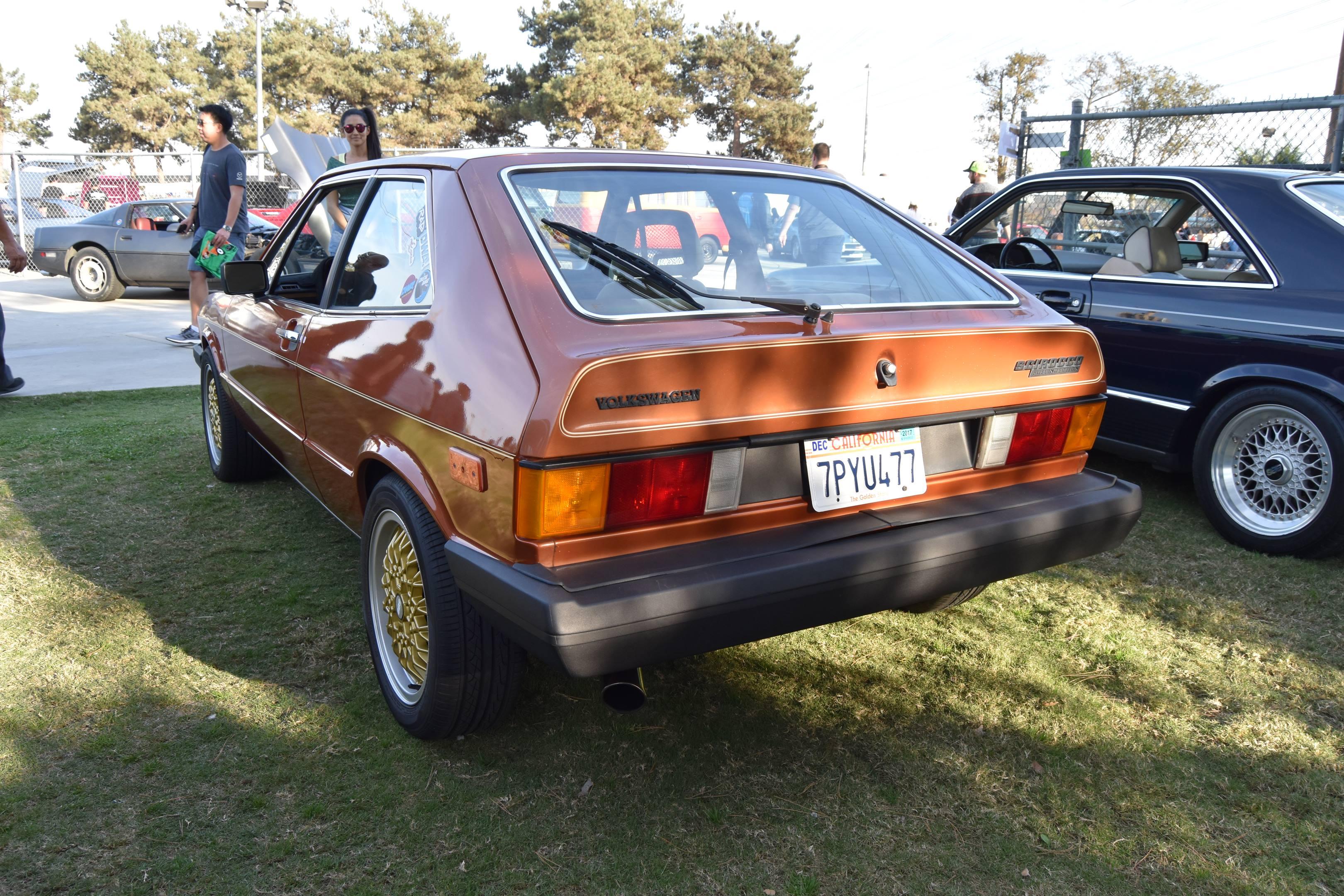 Volkswagen Scirocco rear