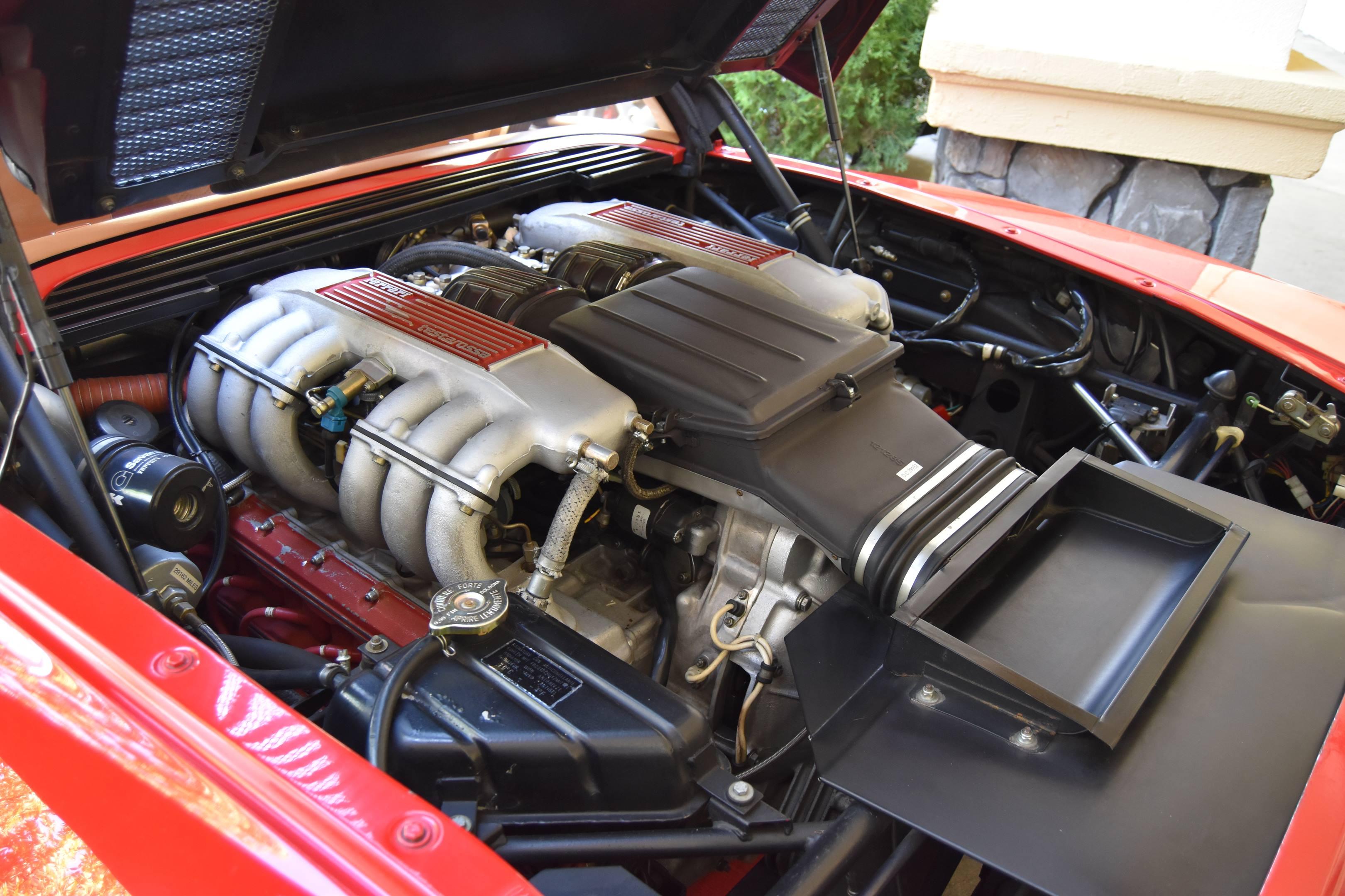 1985 Ferrari Testarossa engine
