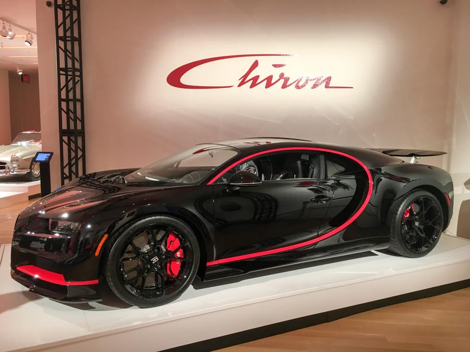 This is the first US spec Bugatti Chiron available for sale. Hammered at $3,425,000!