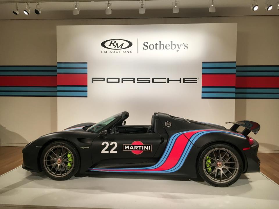 This special Weissach edition 918 Spyder SOLD for           <figure class=