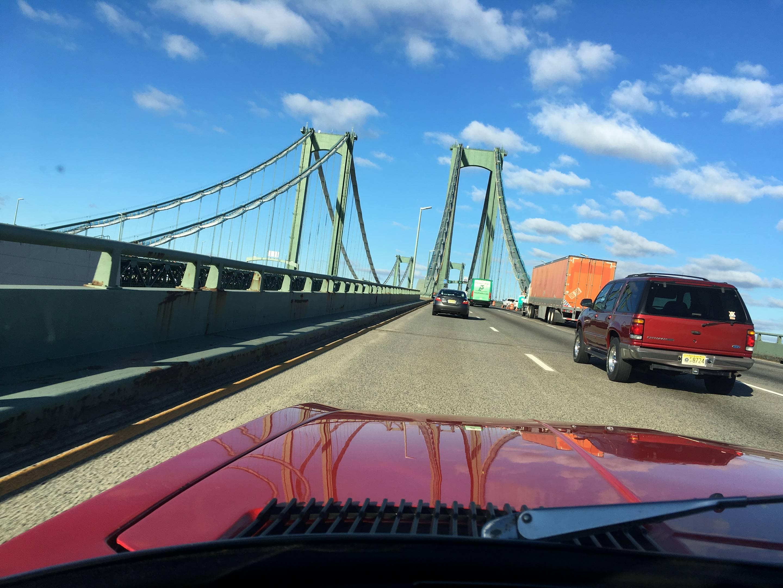 Damn, the Delaware Memorial Bridge is big.