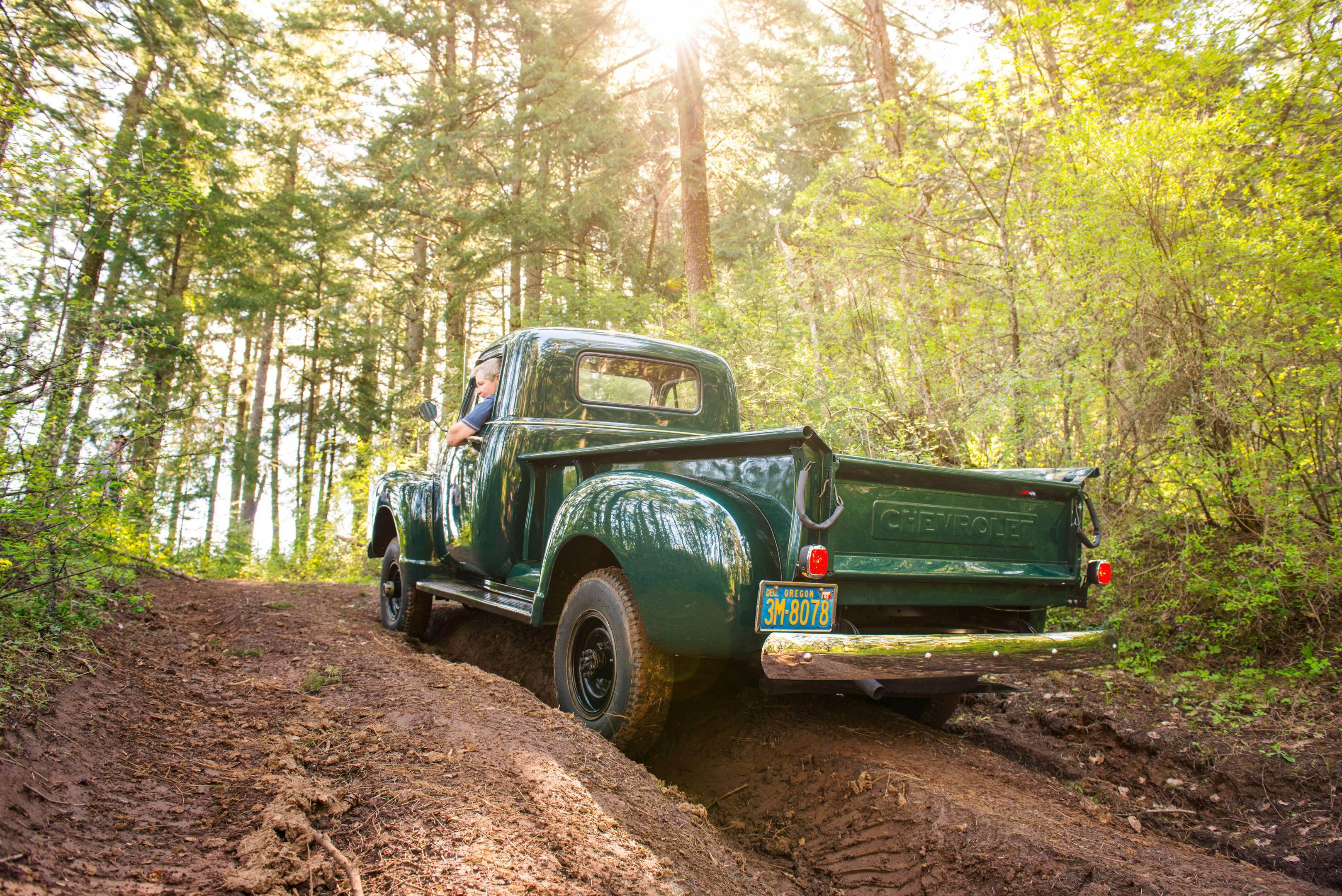 Chevy 4x4 truck rear