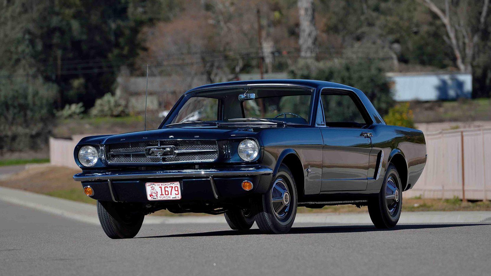 1965 Ford Mustang Serial No. 00002