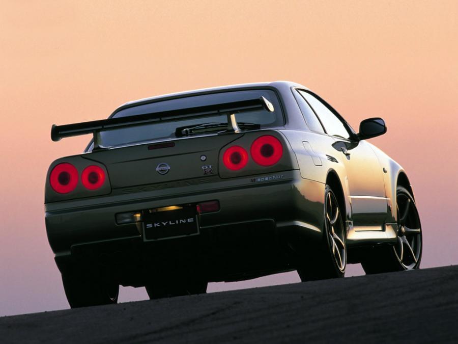2002 Nissan Skyline R34 GT-R Nür