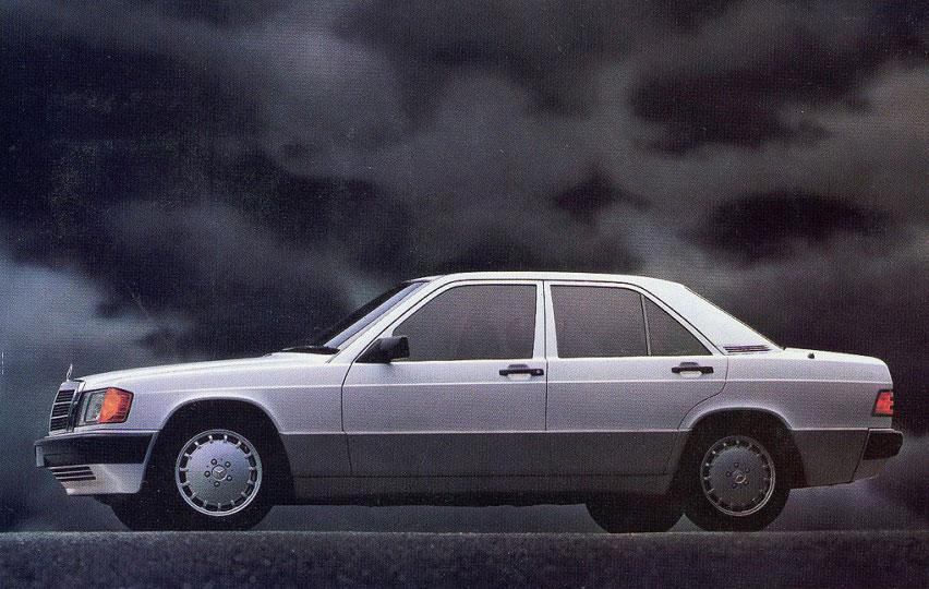 1989 Mercedes-Benz 190