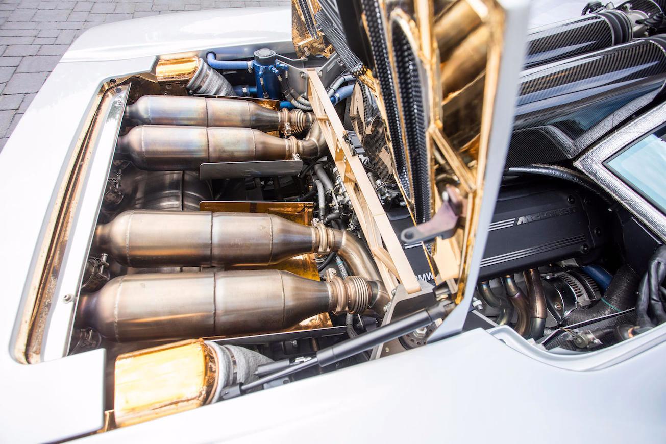 1995 McLaren F1 exhaust system (Bonhams)
