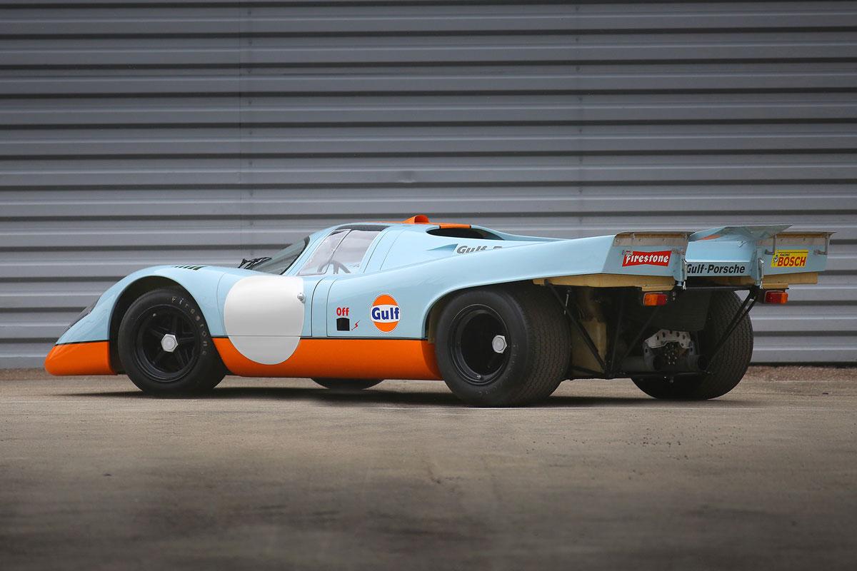 1970 Porsche 917K rear 3/4 (Gooding & Company)