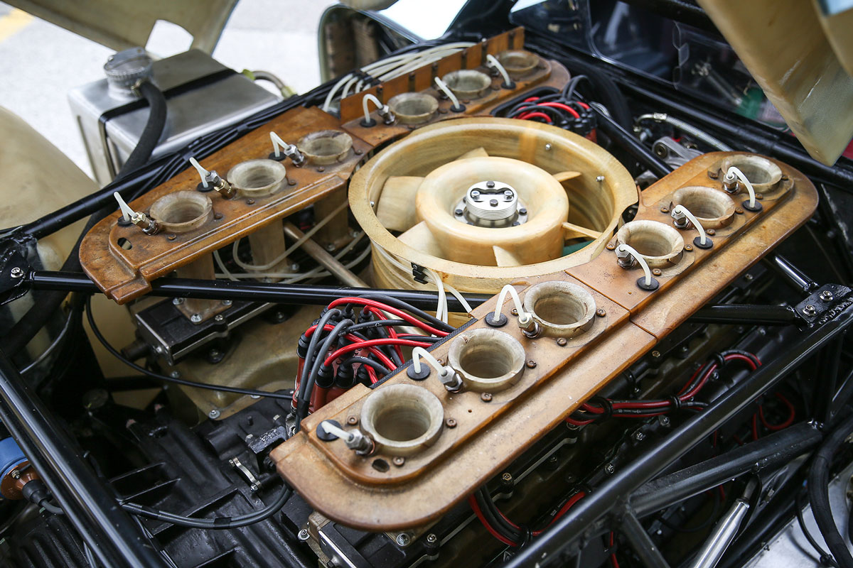 1970 Porsche 917K engine (Gooding & Company)