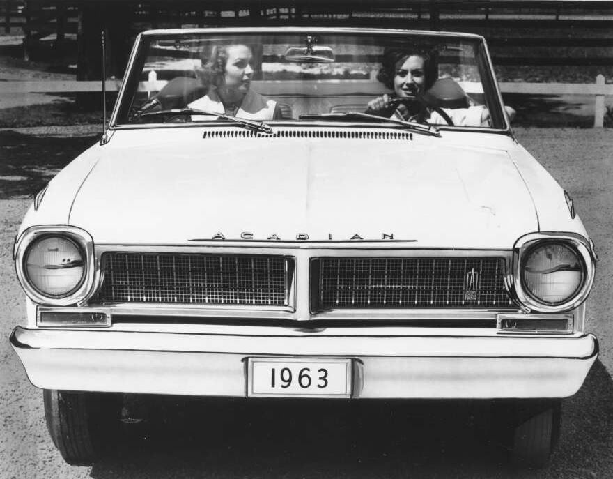 1963 Acadian promotional photo