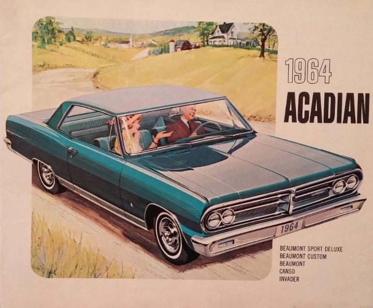 1964 Acadian brochure