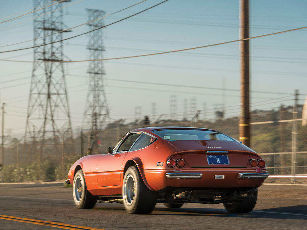 One of the coolest Ferrari Daytonas ever went for well under the presale estimate