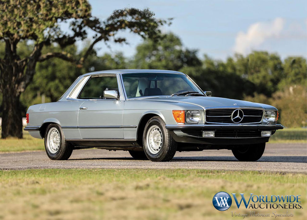 1980 Mercedes-Benz 450SLC 5.0