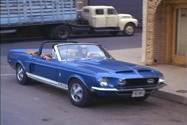 1968 Shelby GT500 convertible, Get Smart
