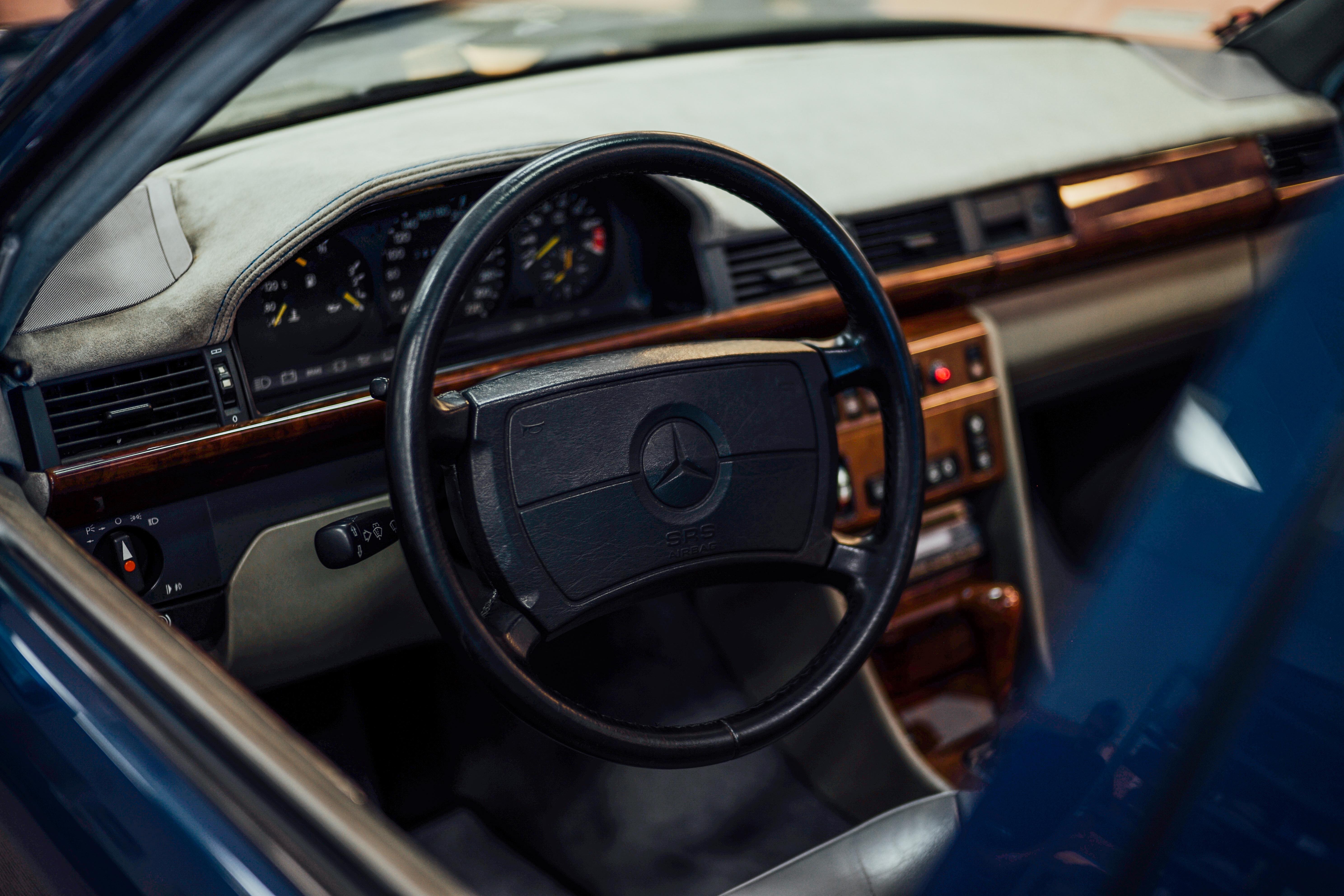 amg mercedes benz hammer wagon 500e interior steering wheel