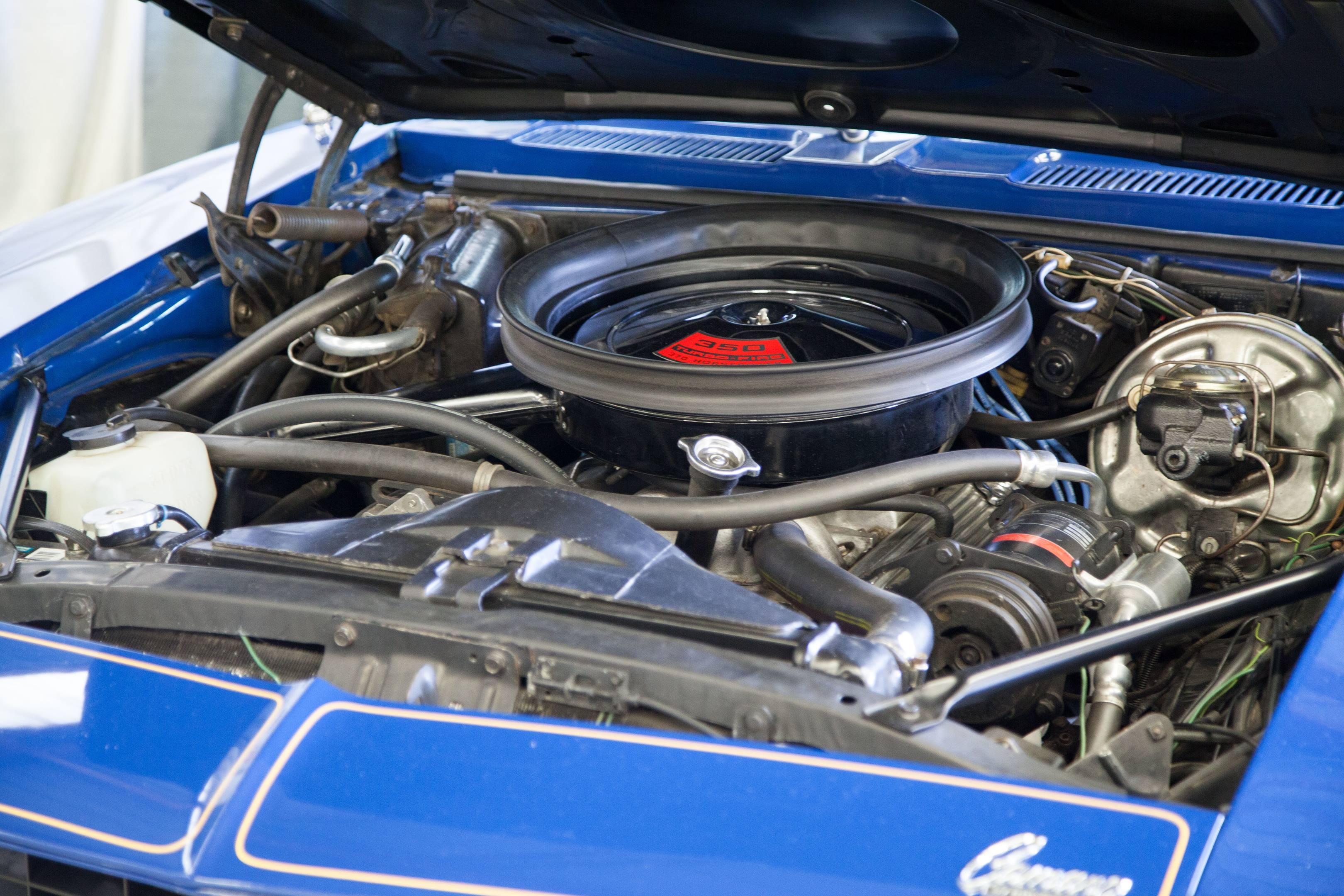 1969 blue maxi camaro car and driver engine lt1