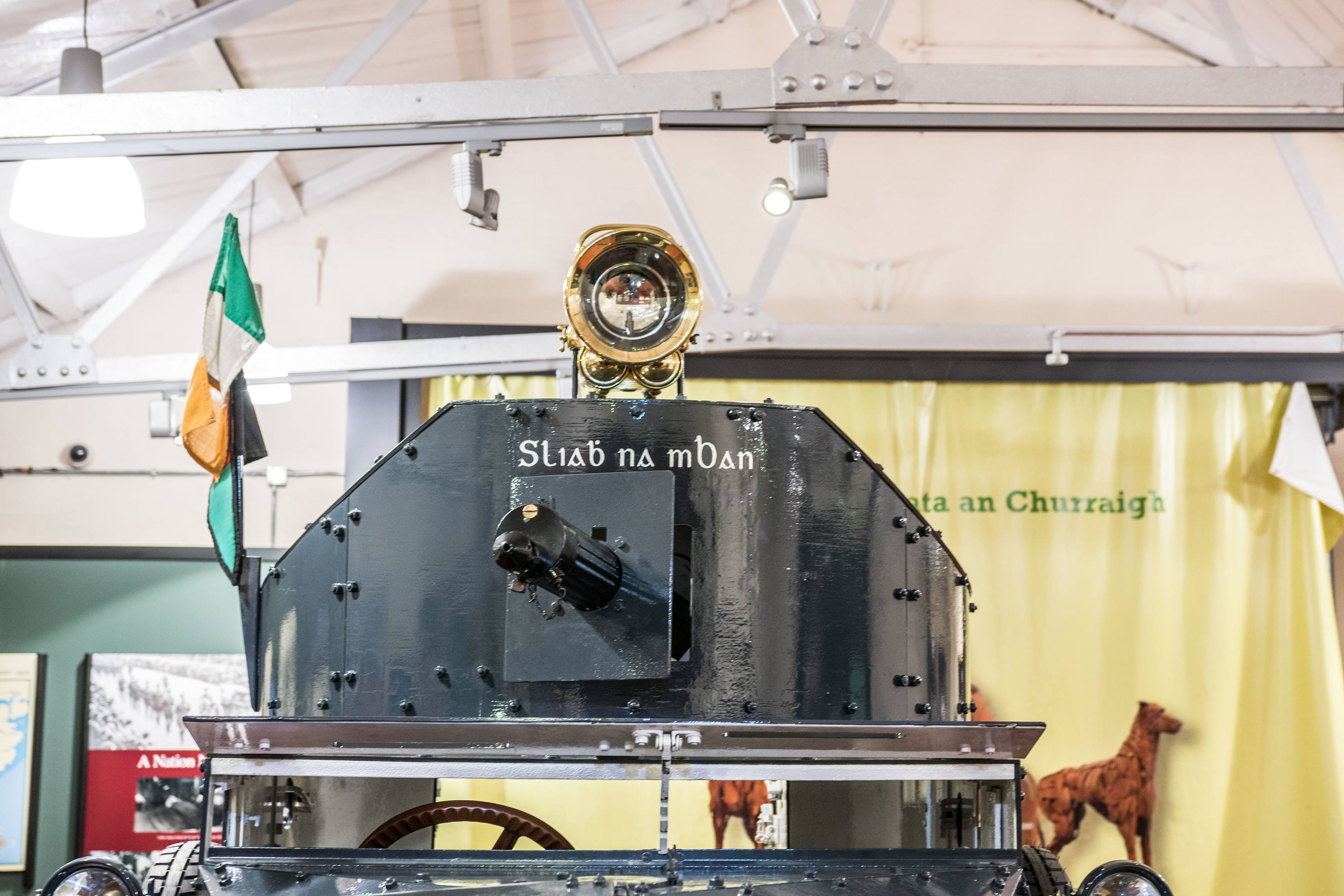 Sliabh no mBan sits in pride of place at the Curragh Museum