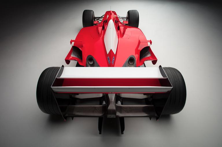 2001 Ferrari F2001 tail