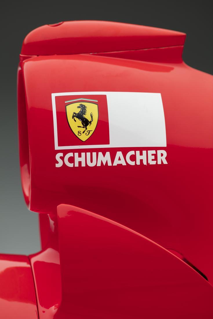 2001 Ferrari F2001 air intake