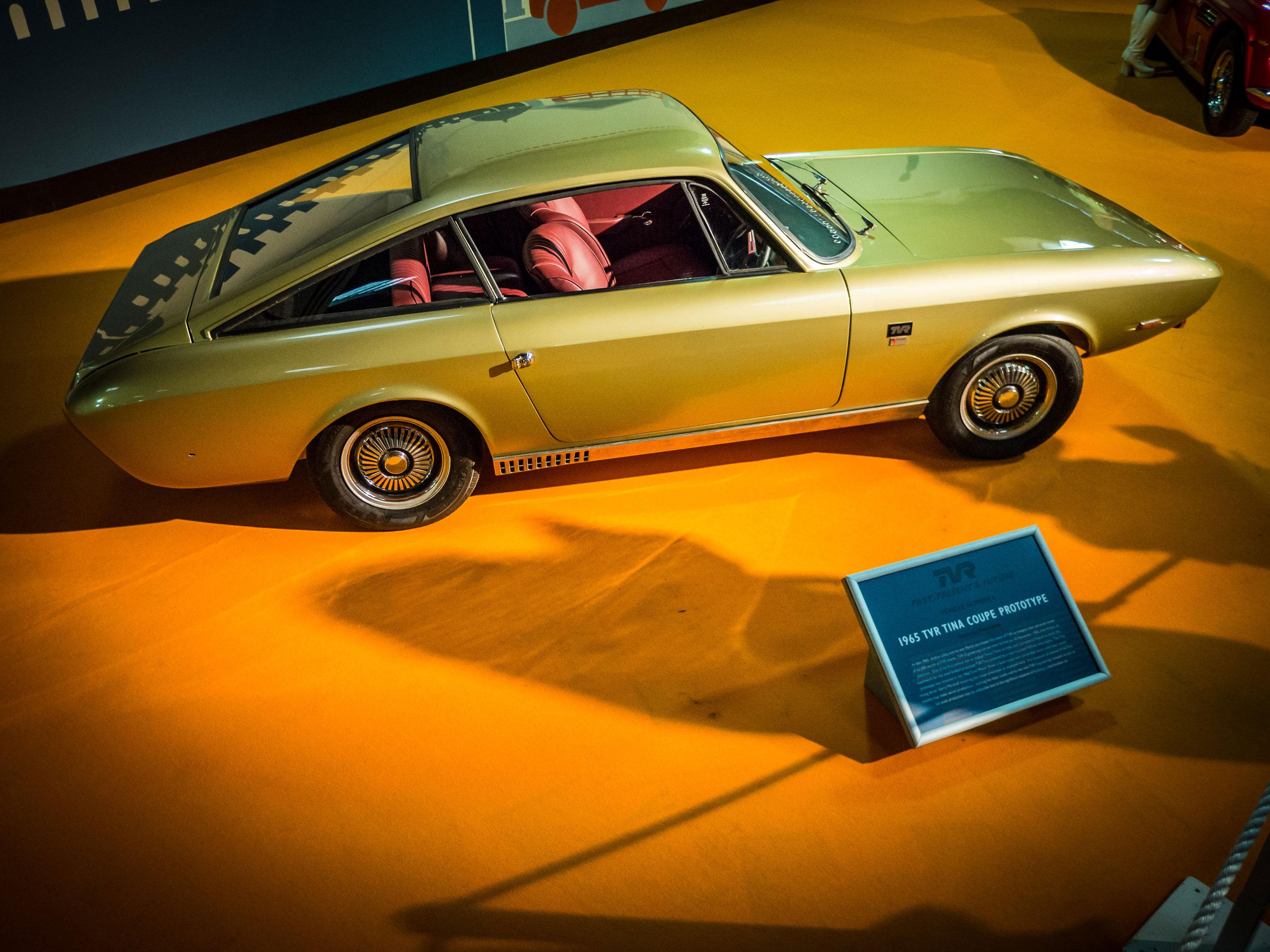 1965 TVR Tina Coupe Prototype