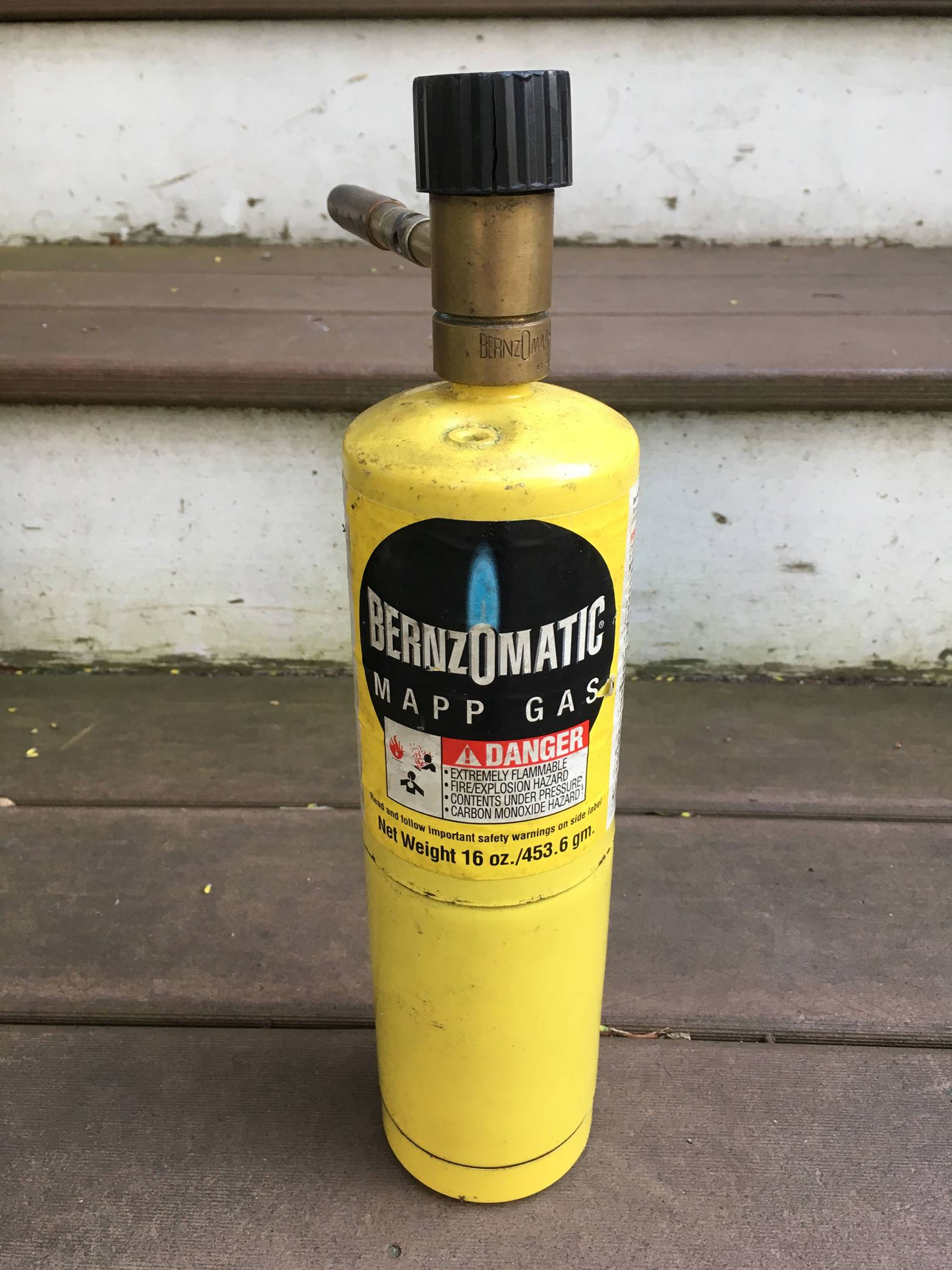 Don't even try propane. Go straight to MAPP gas.