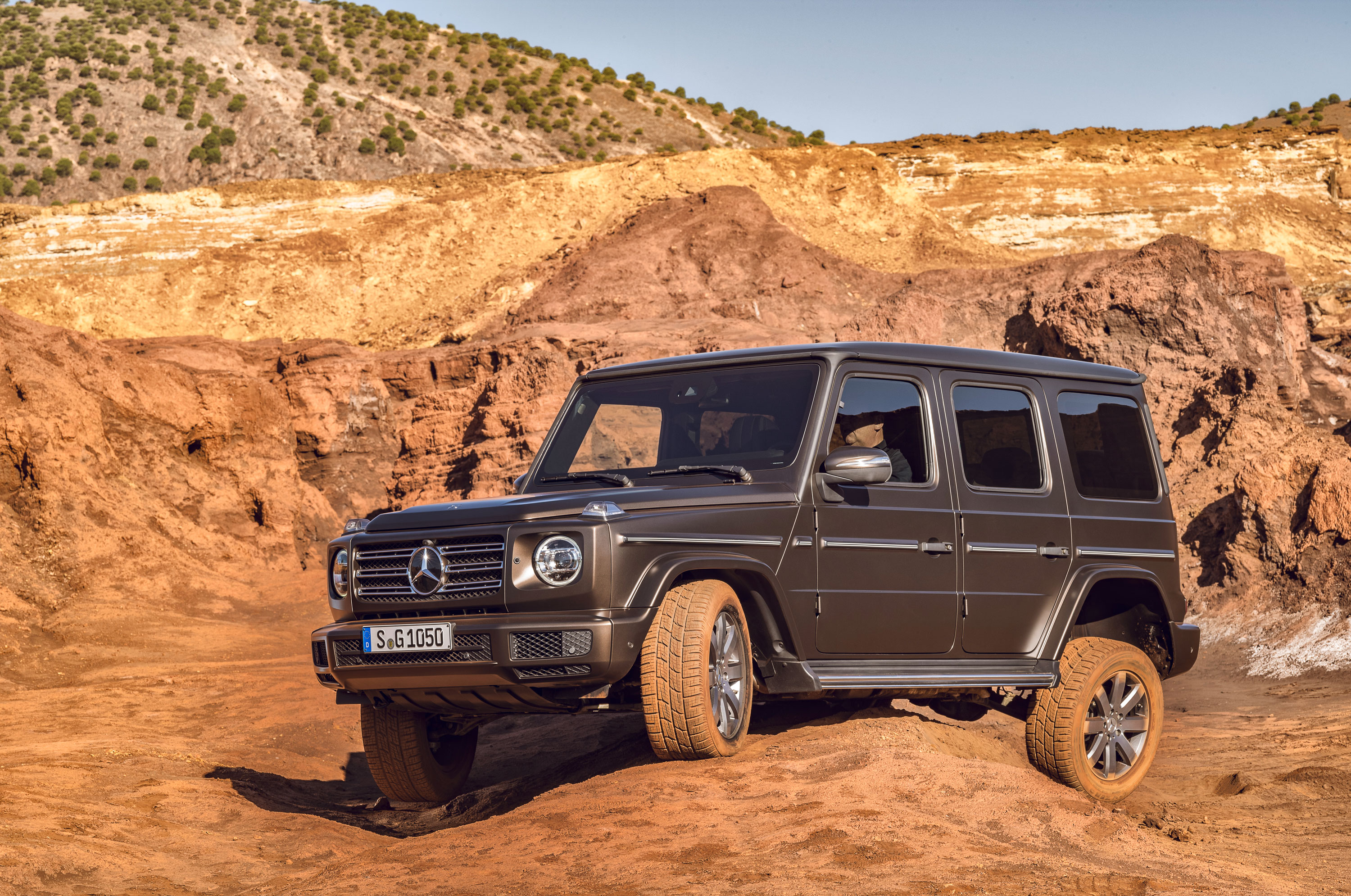 2019 Mercedes-Benz G-Class in the mountains