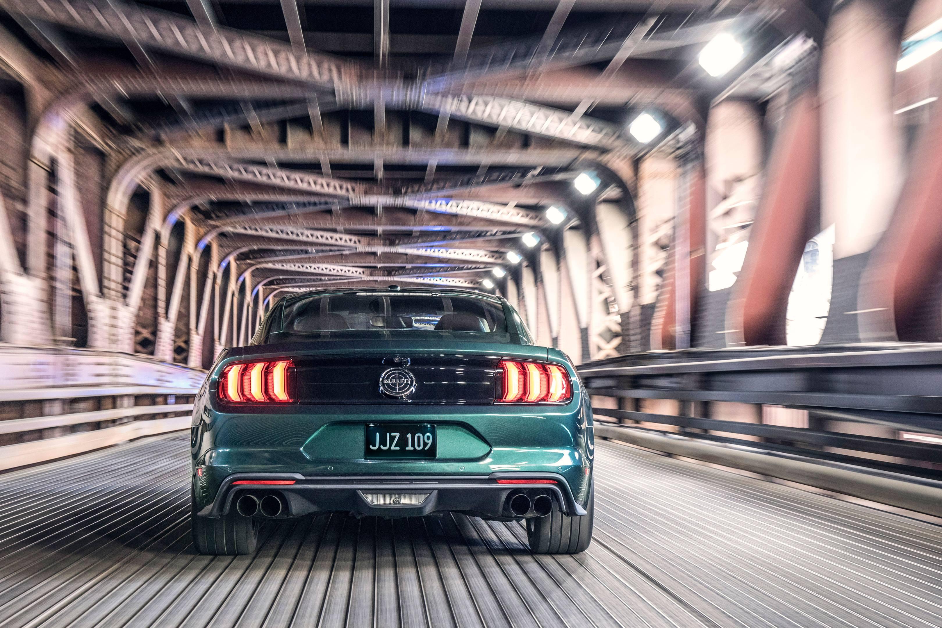 2019 Mustang Bullitt rear
