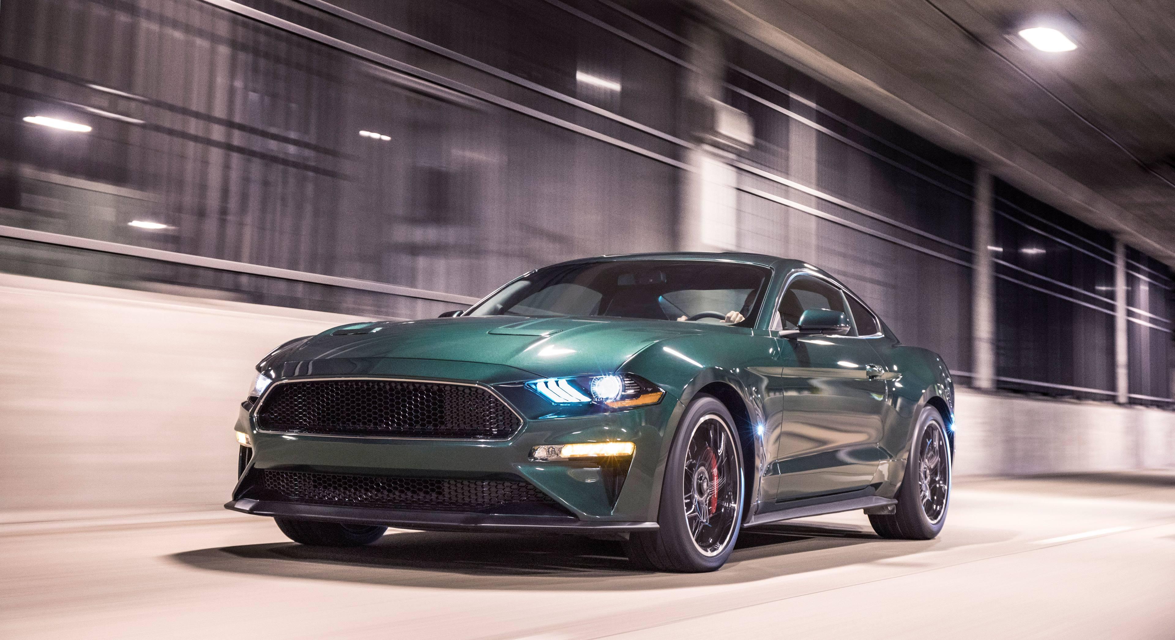 2019 Mustang Bullitt front 3/4