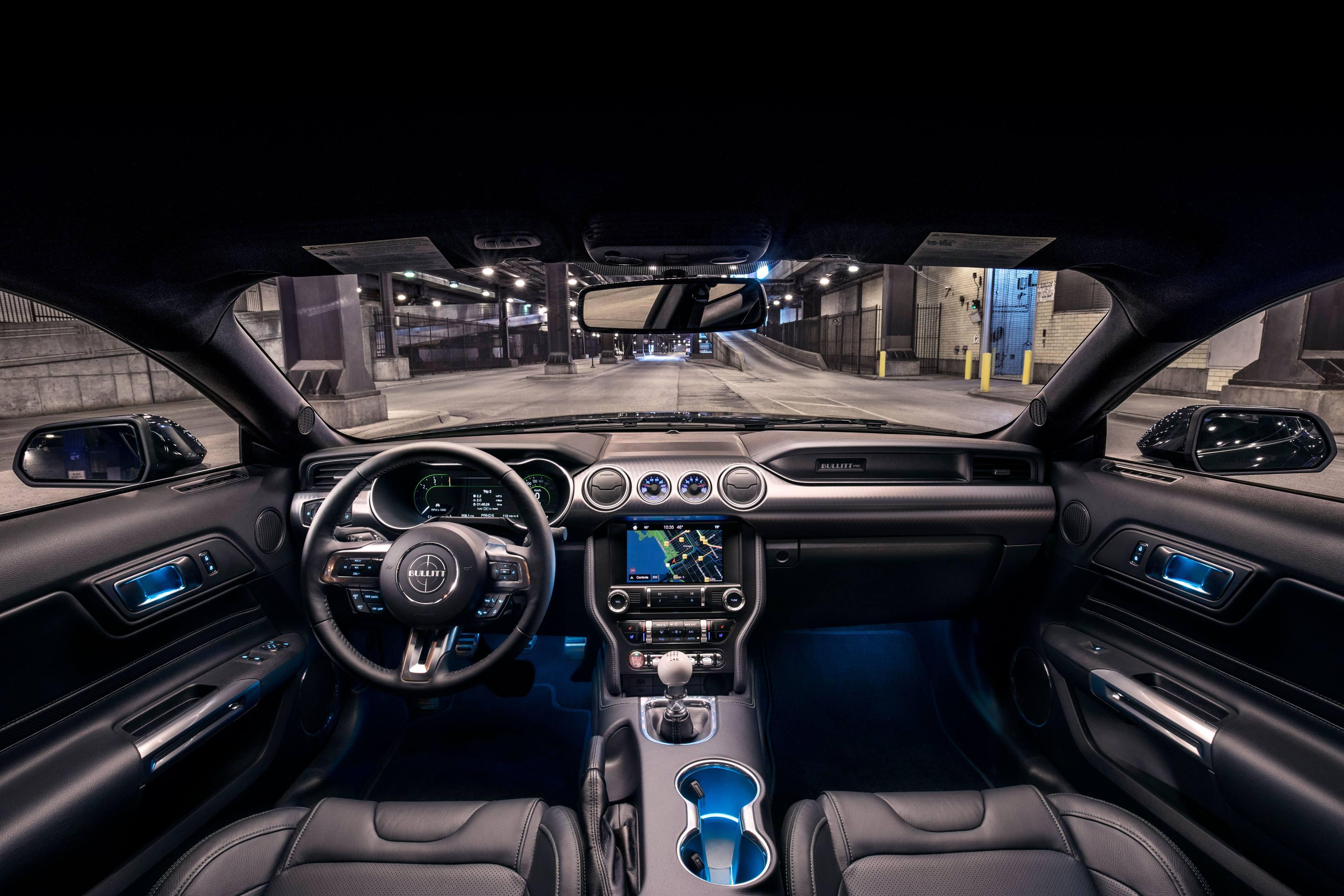 2019 Mustang Bullitt interior