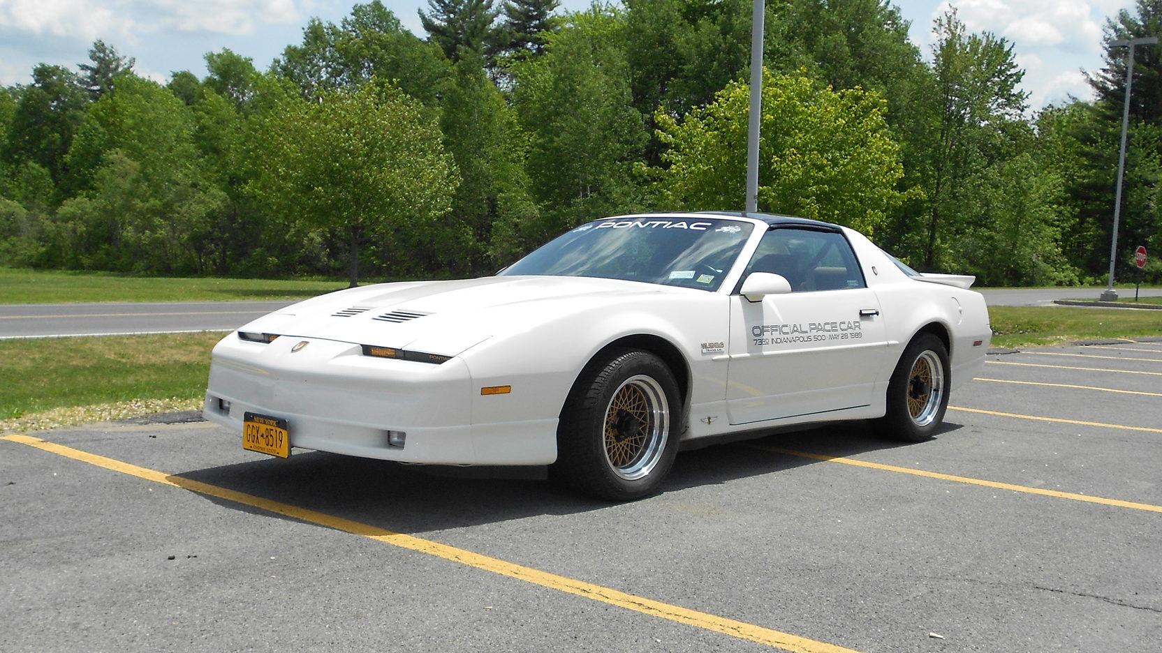 1989 Pontiac Trans Am Pace Car