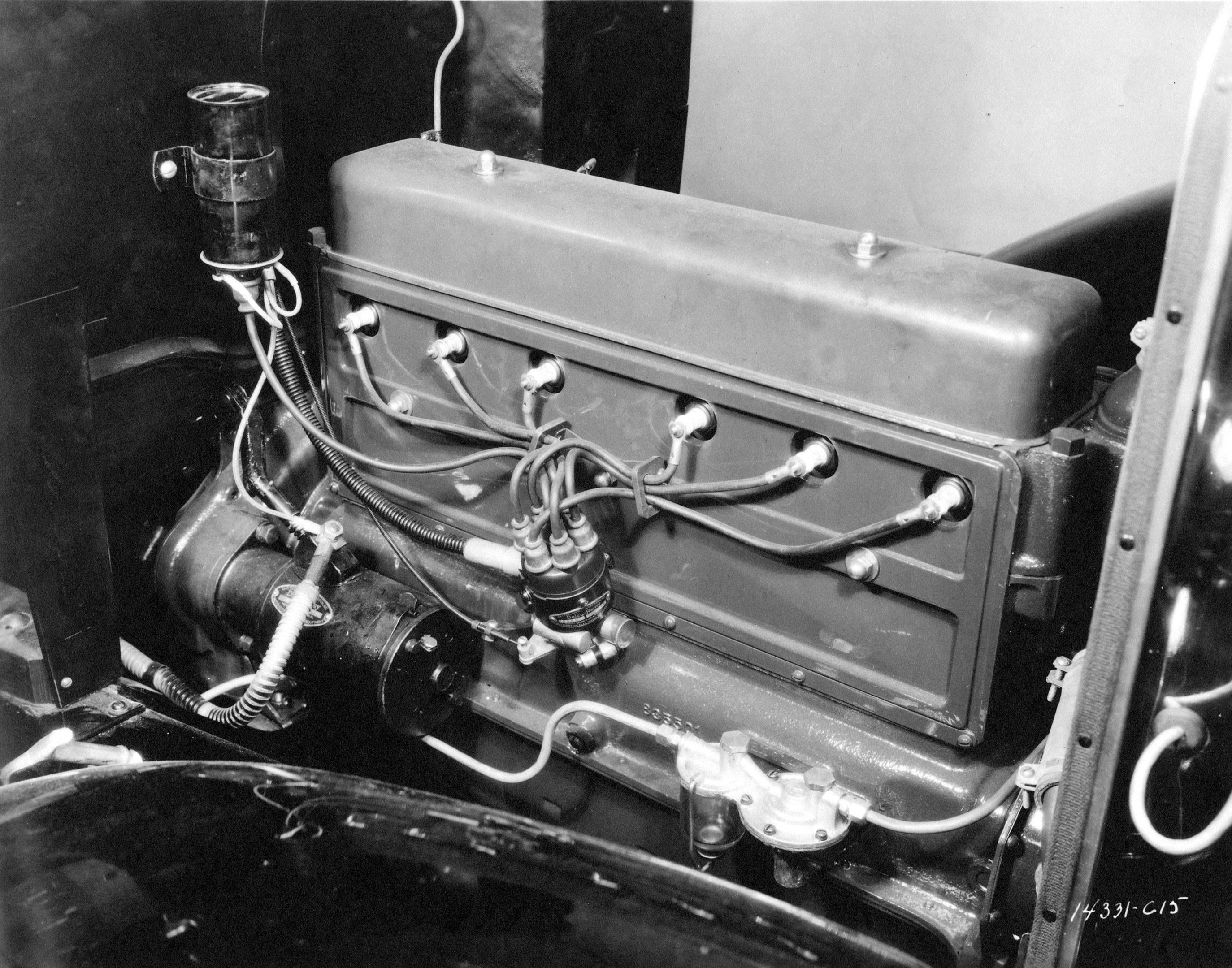 1929 chevrolet stovebolt six