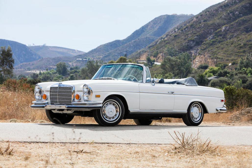 1970 Mercedes-Benz 280SE 3.5 Cabriolet