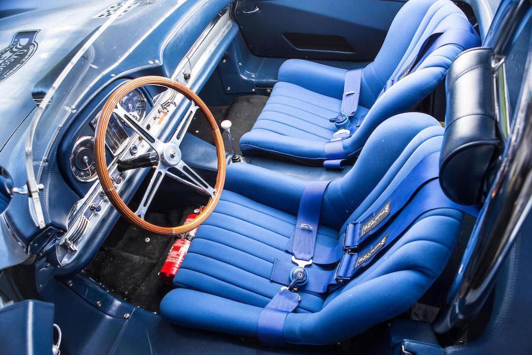 bonhams 300sl roadster auction interior competition