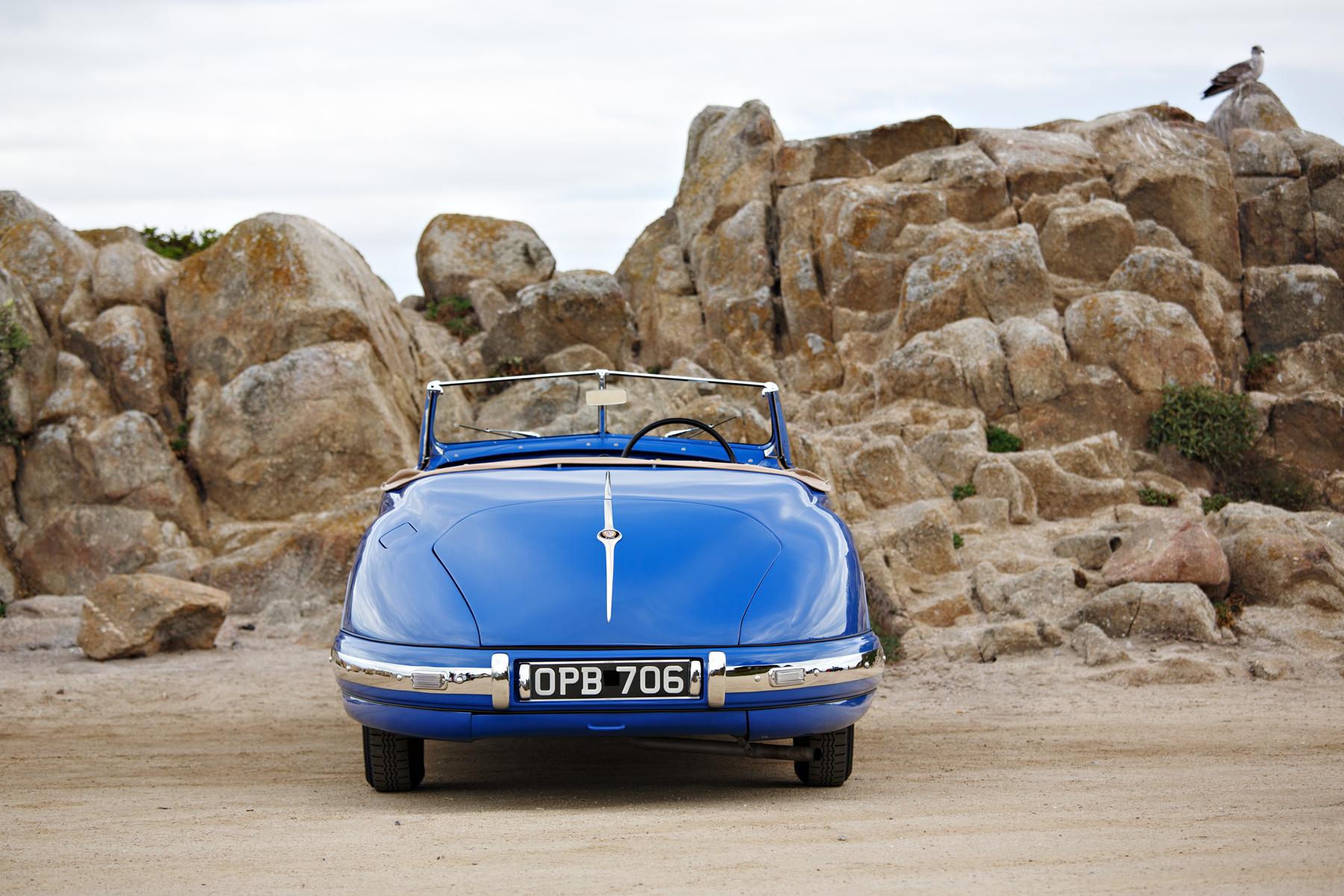 1949 Bristol 402 Cabriolet rear