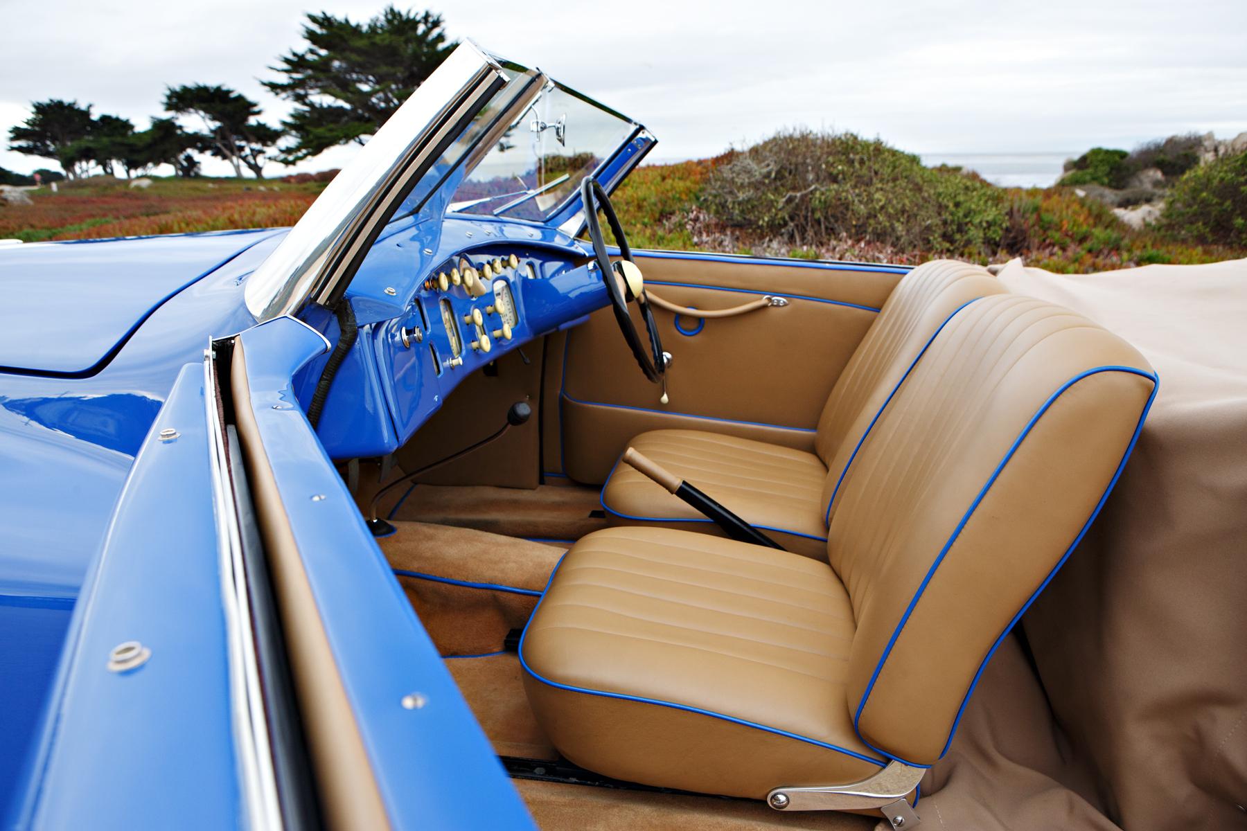 1949 Bristol 402 interior piping