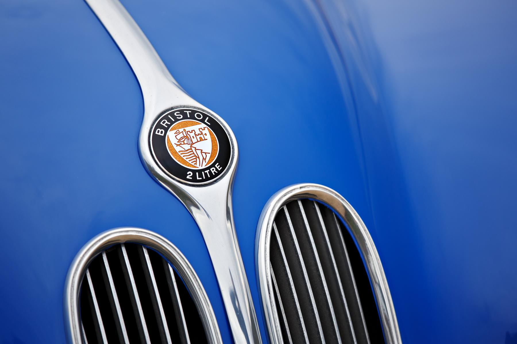 1949 Bristol 402 Cabriolet badge