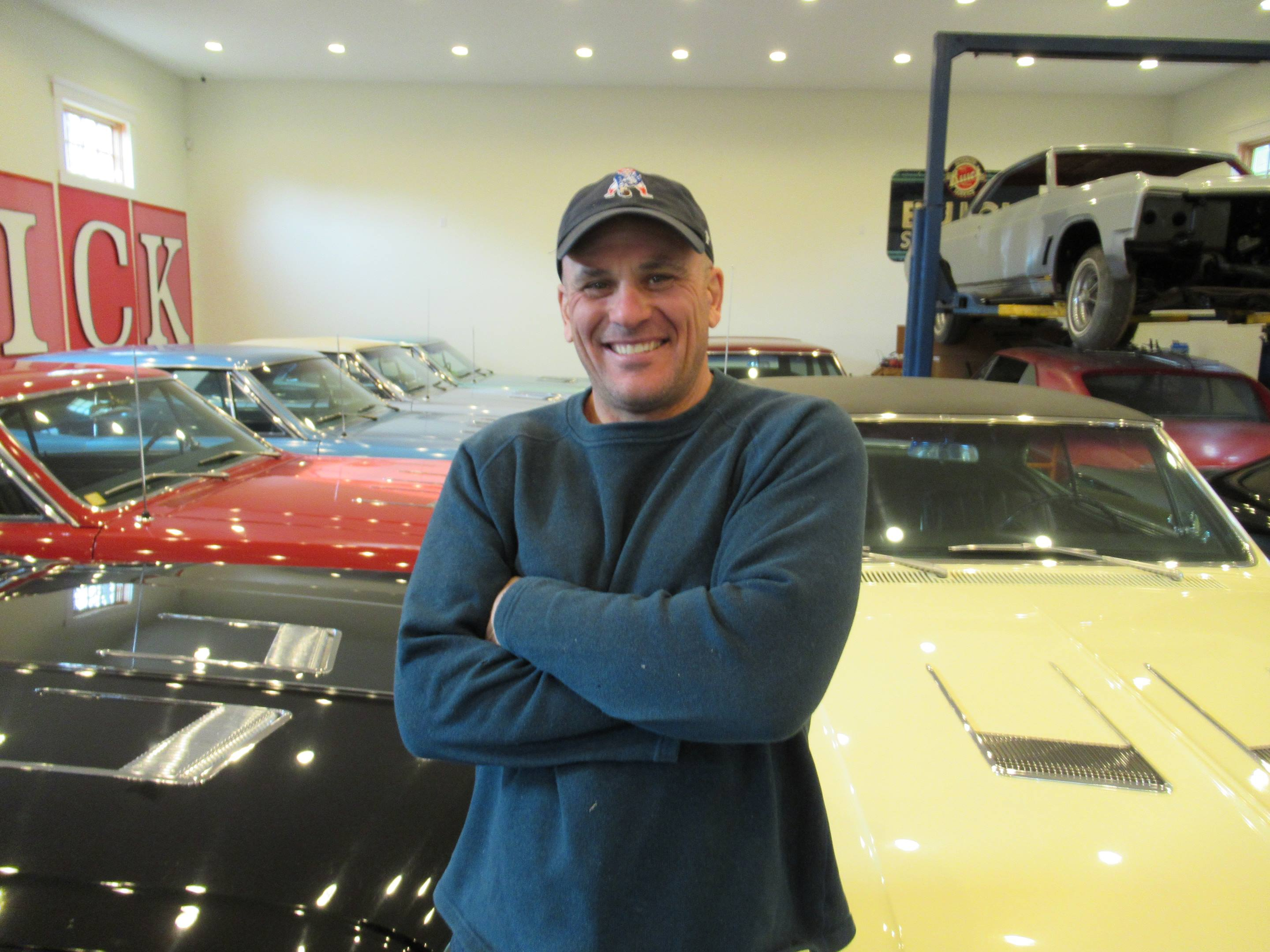 Jimmy Shiels with his 1966 Buick Skylark GS collection