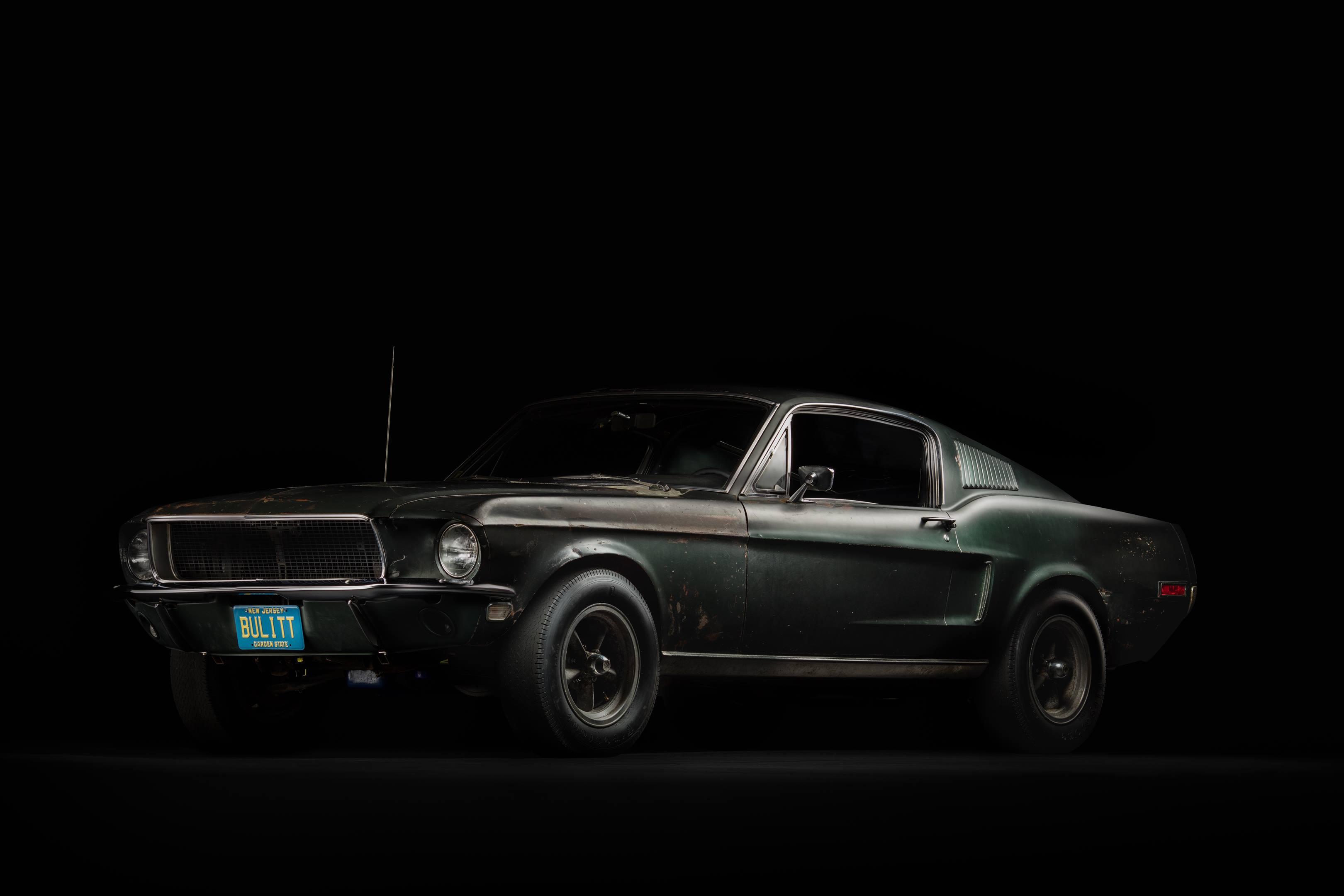 Bullitt Mustang front 3/4
