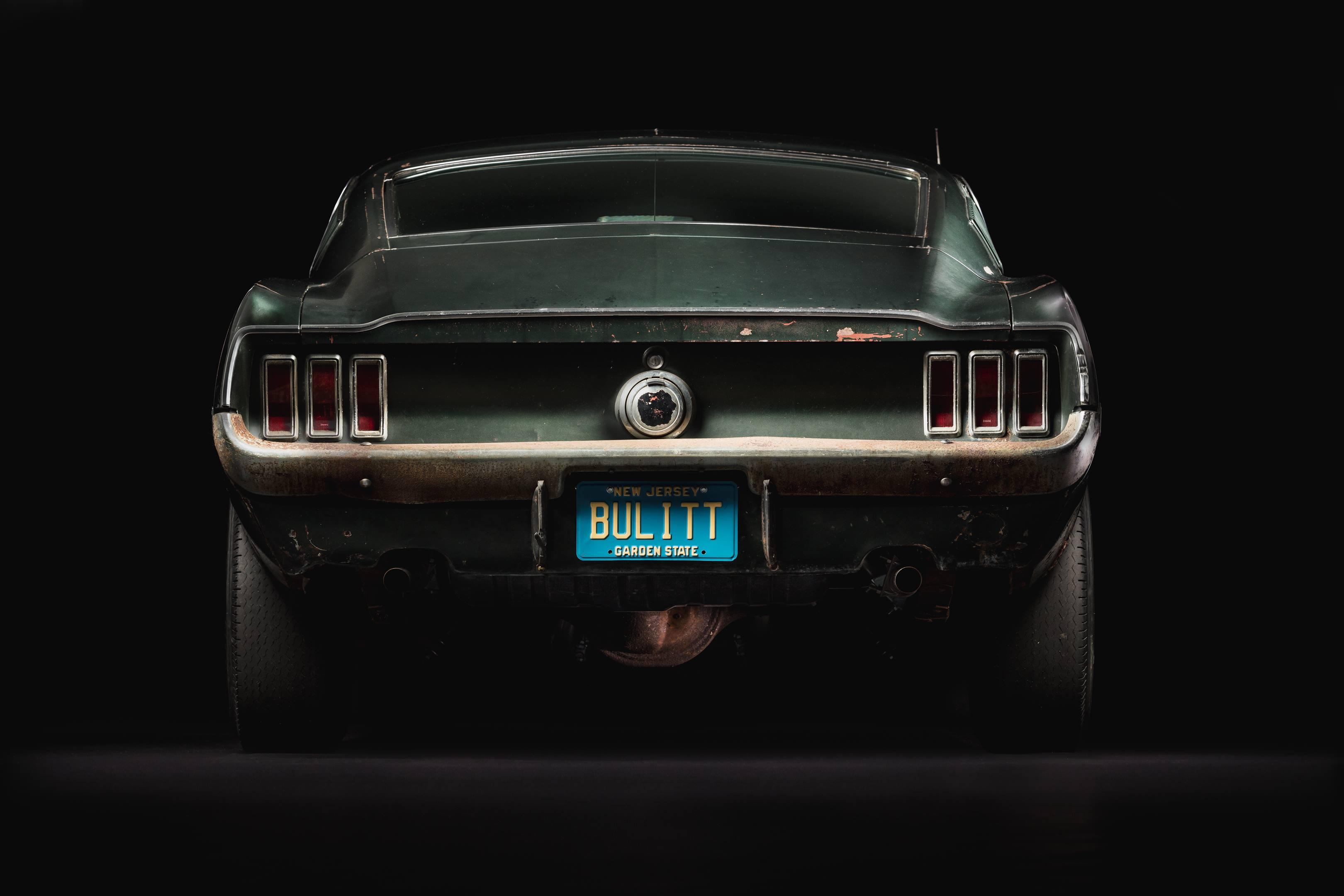 Bullitt Mustang rear