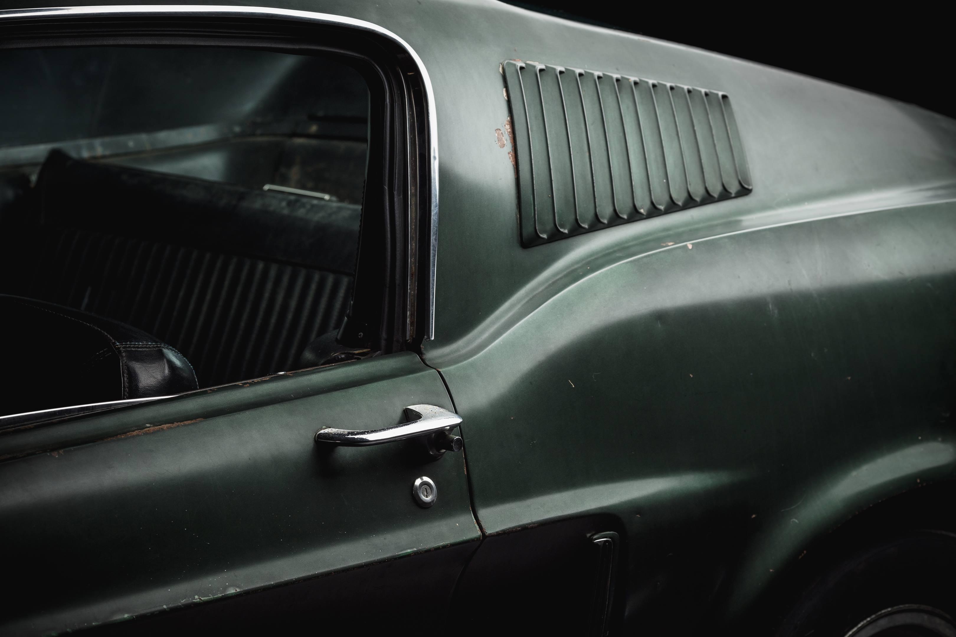 Bullitt Mustang detail