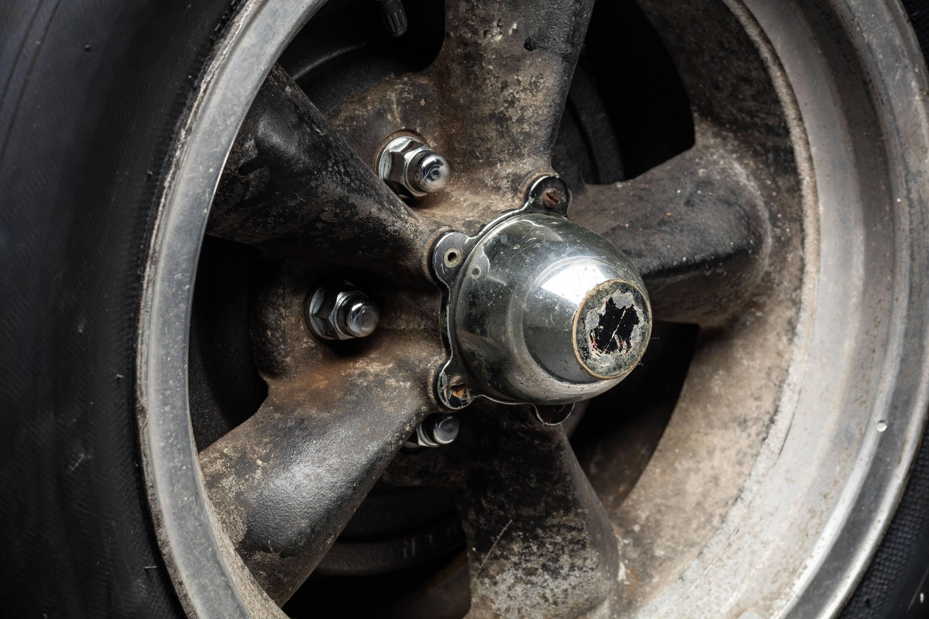 Bullitt Mustang wheel detail