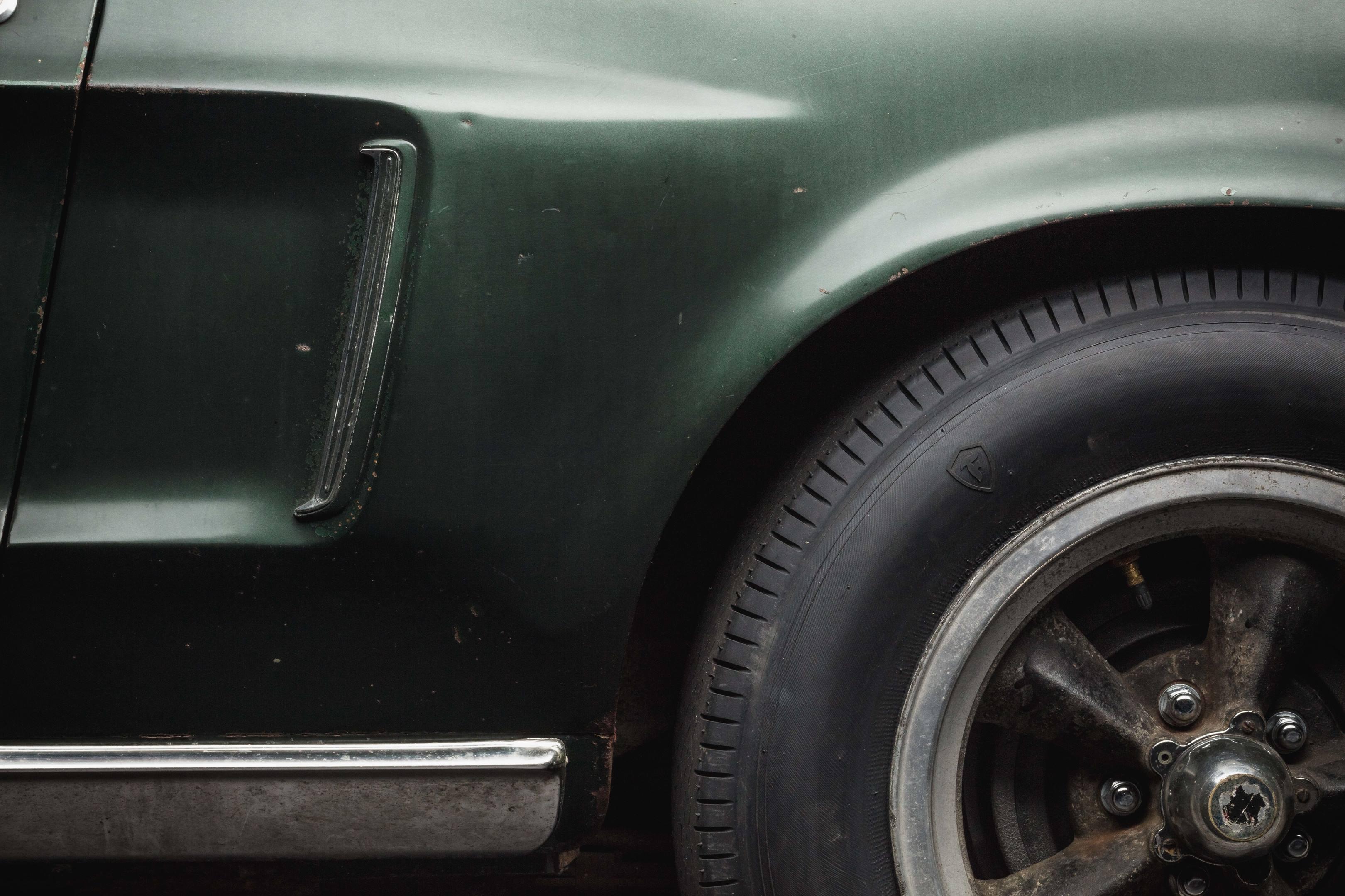 Bullitt Mustang side detail