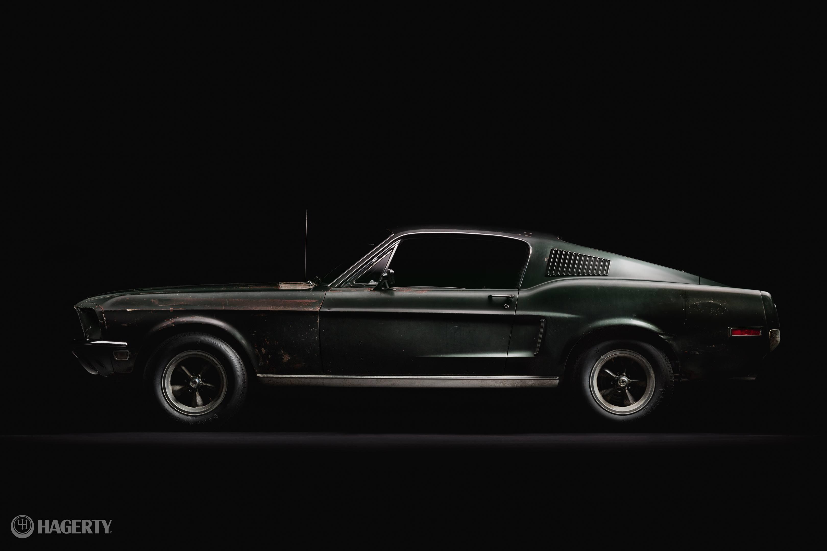 Bullitt Mustang profile