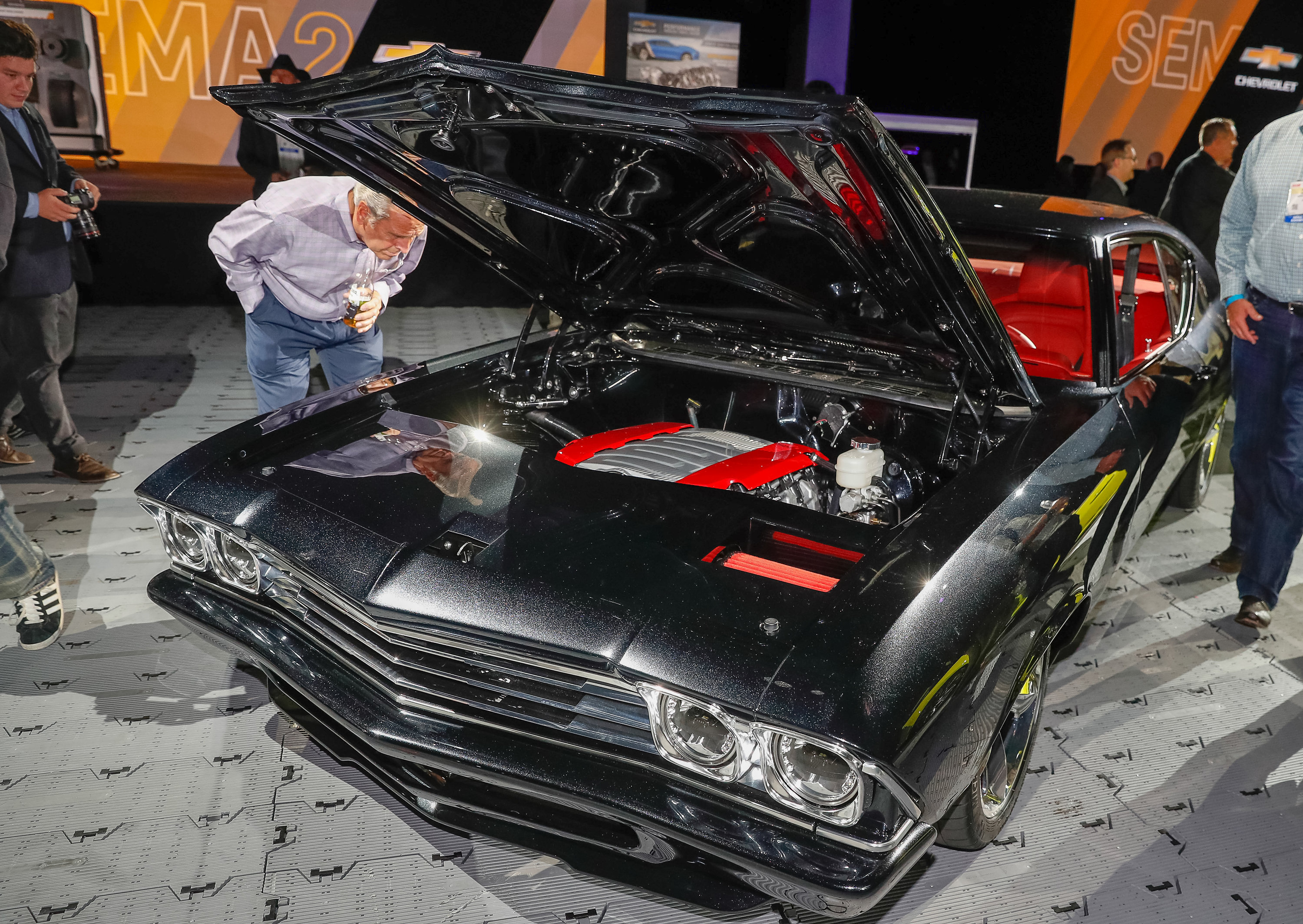 LS-swapped Chevelle at SEMA 2014