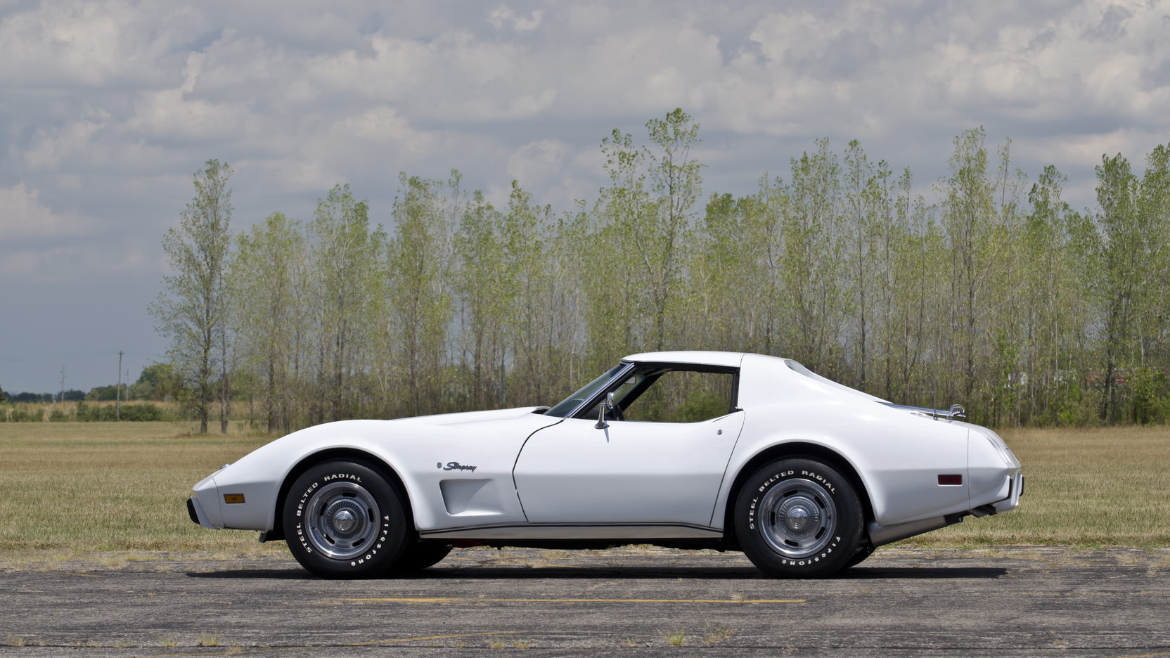 1976 Chevrolet Corvette profile