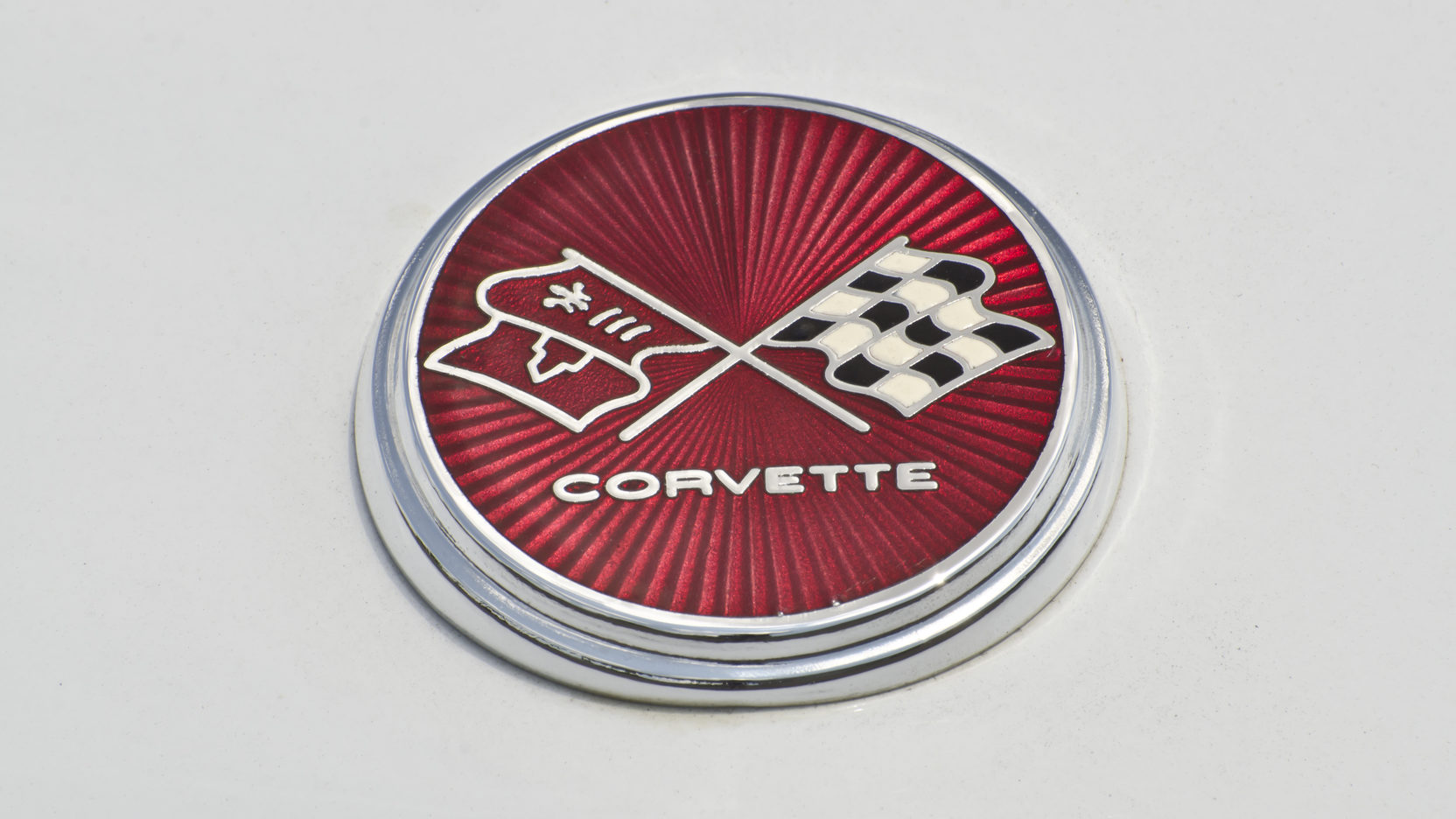 1976 Chevrolet Corvette badge