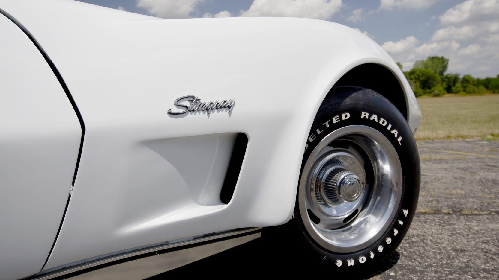 1976 Chevrolet Corvette front detail